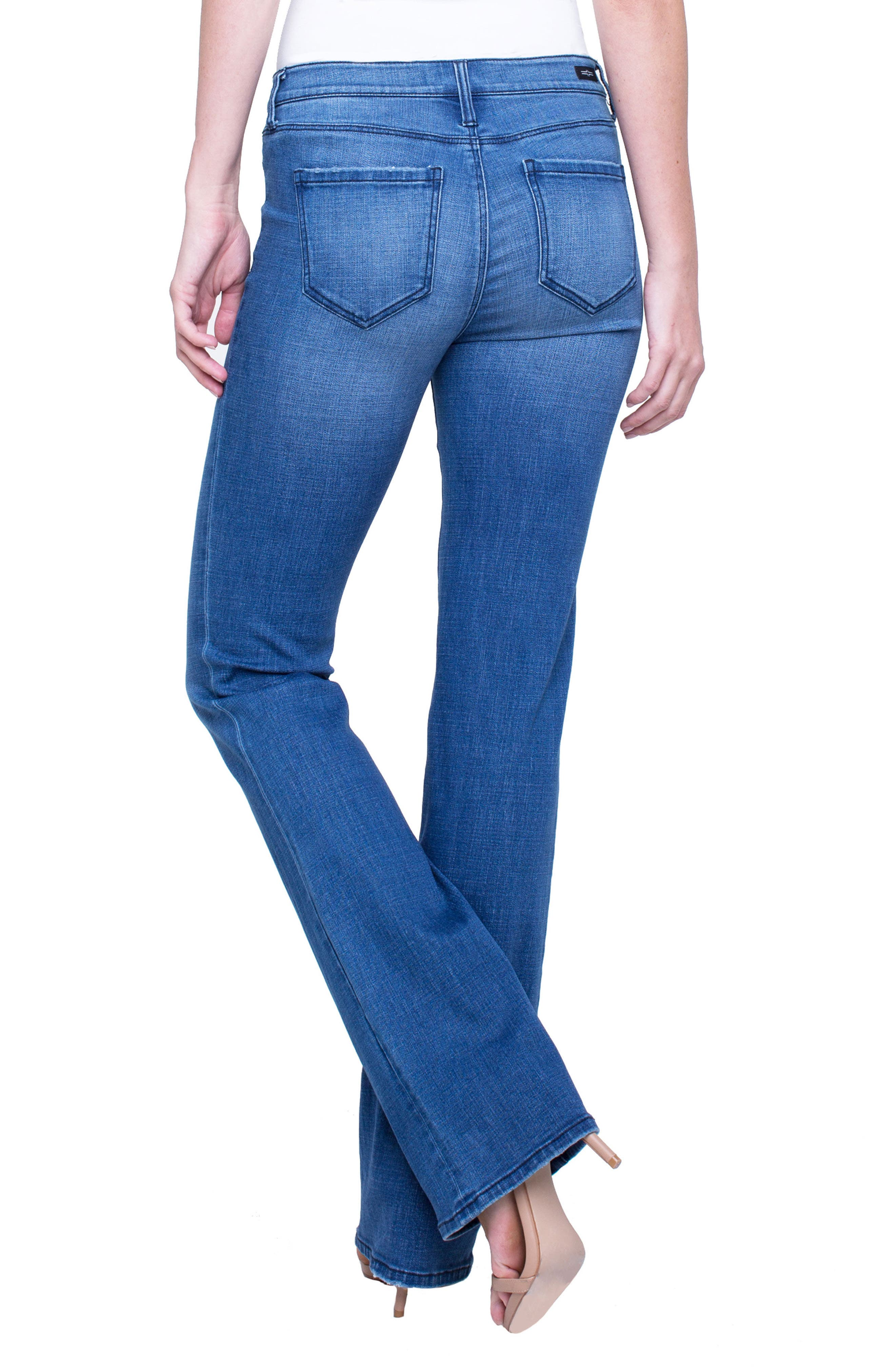 Lucy Stretch Bootcut Jeans,                             Alternate thumbnail 2, color,                             SUNDANCE