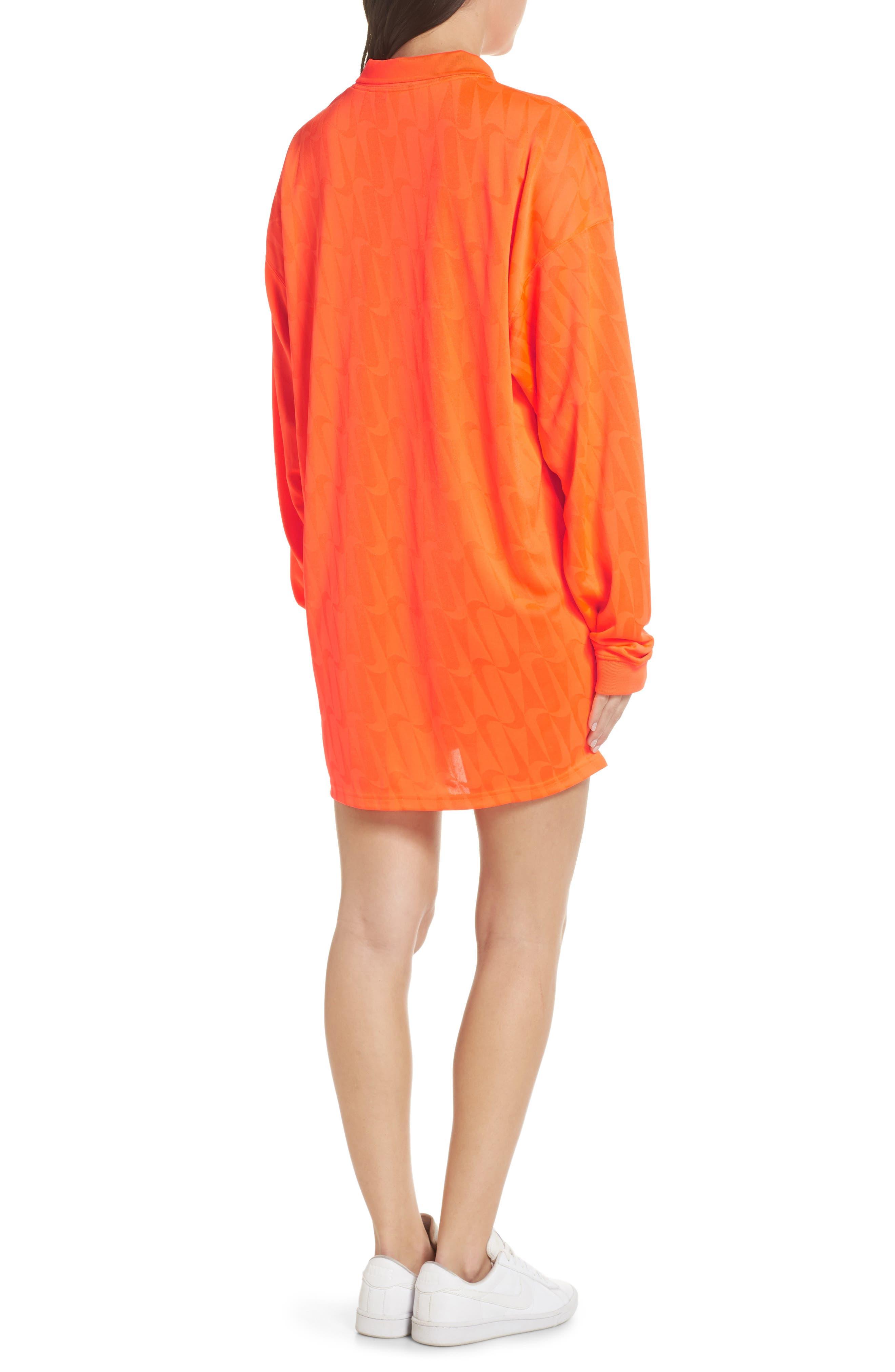 NRG Jersey Dress,                             Alternate thumbnail 2, color,                             HYPER CRIMSON