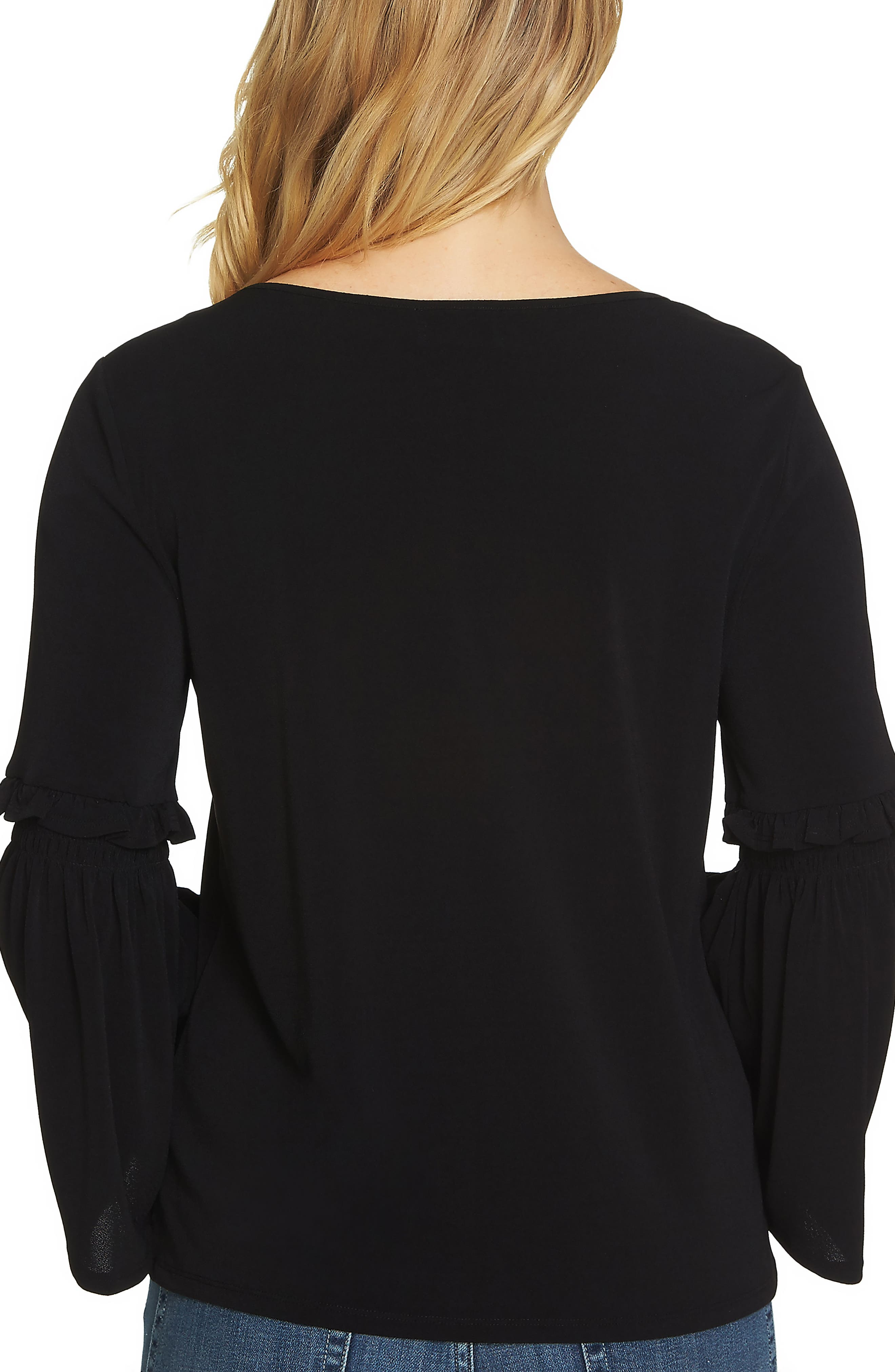 Bell Sleeve Knit Top,                             Alternate thumbnail 5, color,