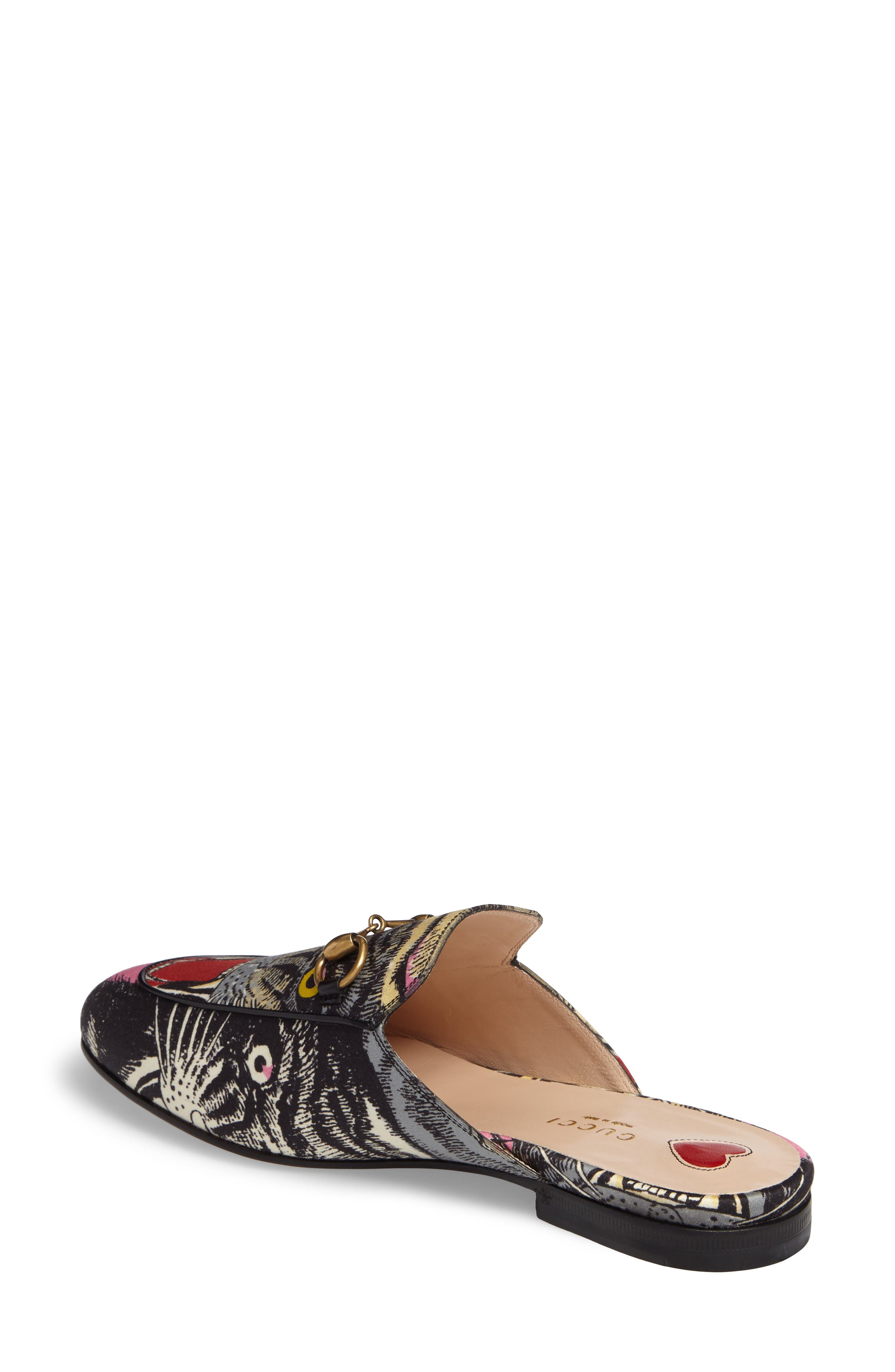 Princetown Angry Cat Mule Loafer,                             Alternate thumbnail 2, color,                             002