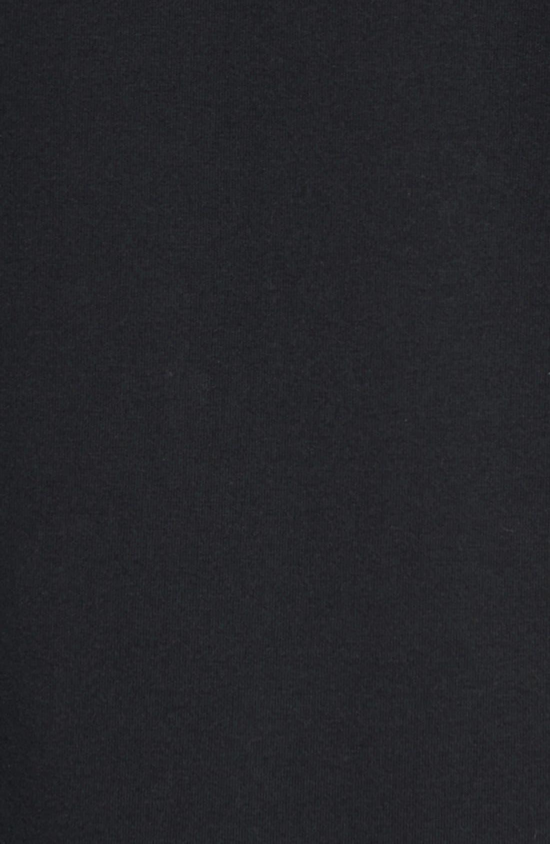 'Windrunner' Tech Fleece Hoodie,                             Alternate thumbnail 6, color,                             BLACK/ BLACK