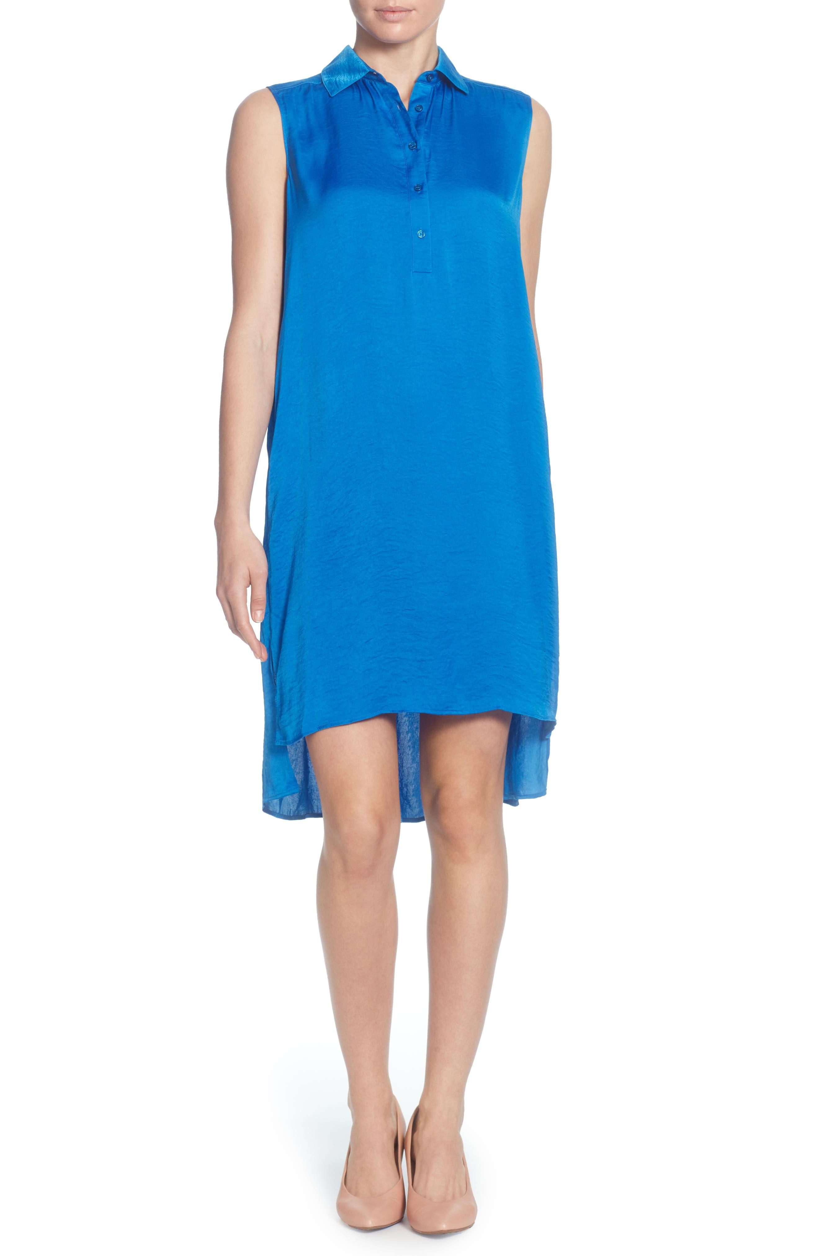Catherine Catherine Malandrino Stella High/low Tunic Top, Blue