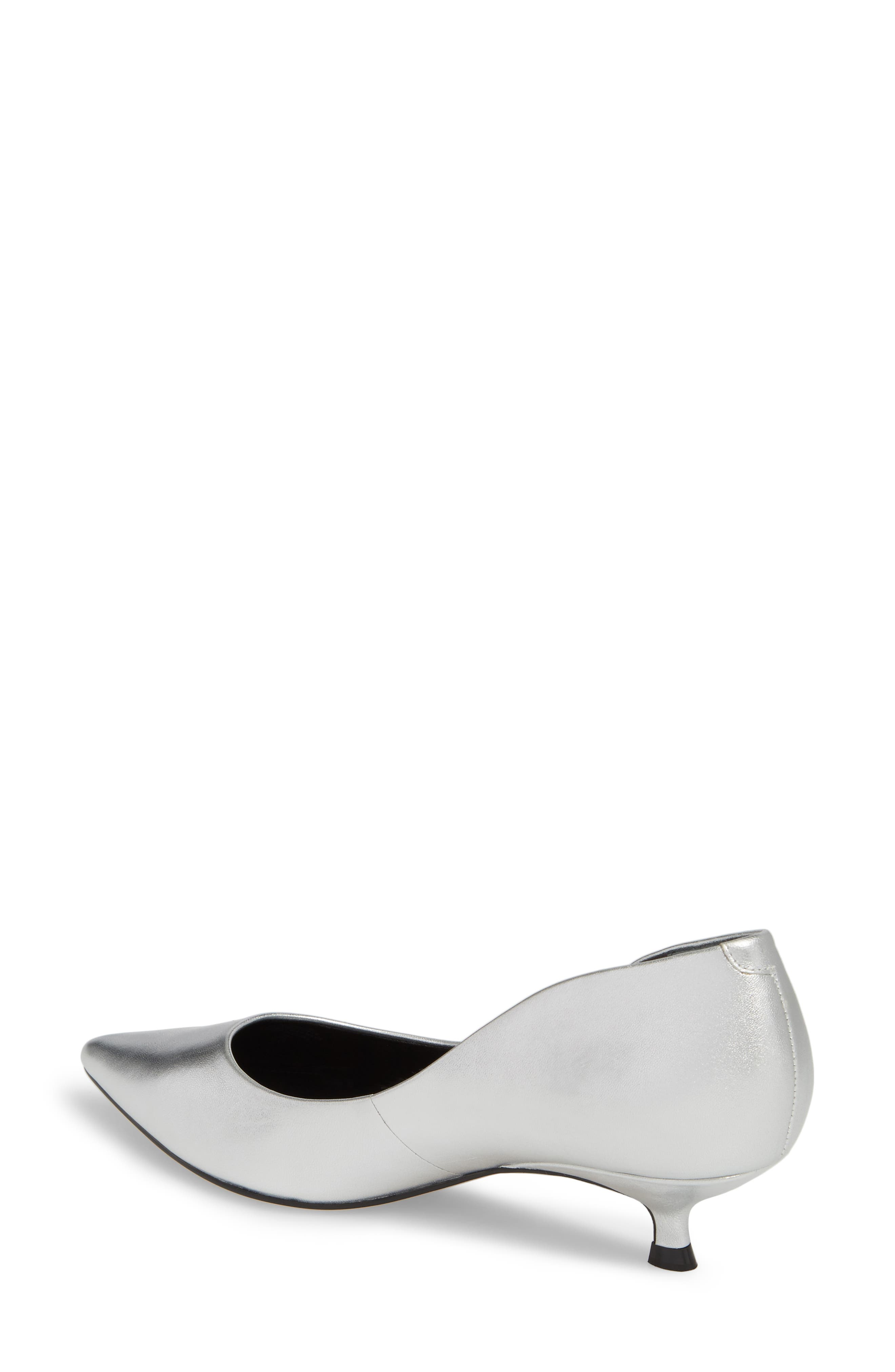 Xanthe Kitten Heel Pump,                             Alternate thumbnail 8, color,