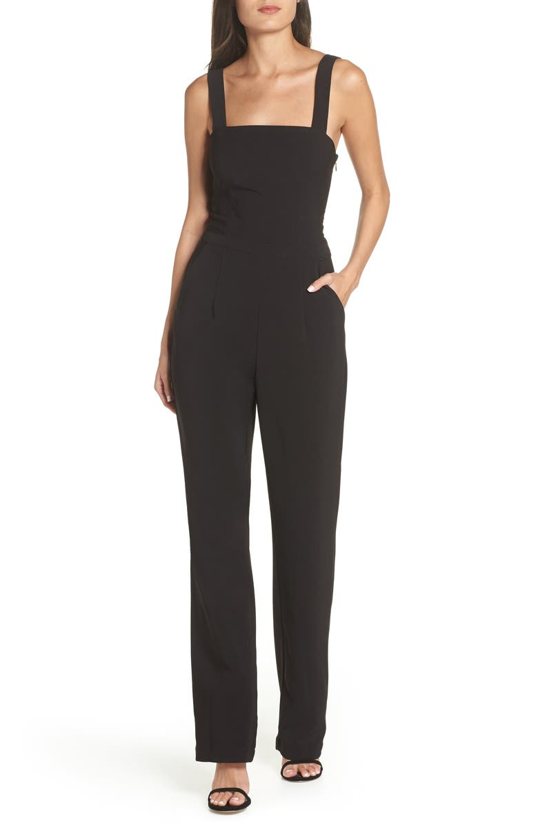 Heartloom MILLIE SQUARE NECK JUMPSUIT