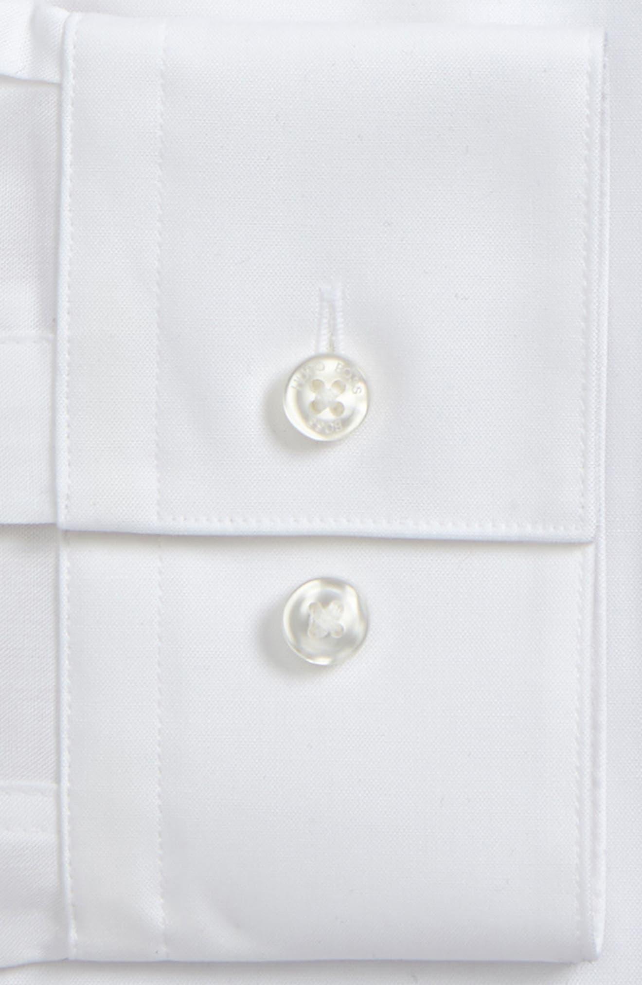 Slim Fit Easy Iron Tuxedo Shirt,                             Alternate thumbnail 2, color,                             100