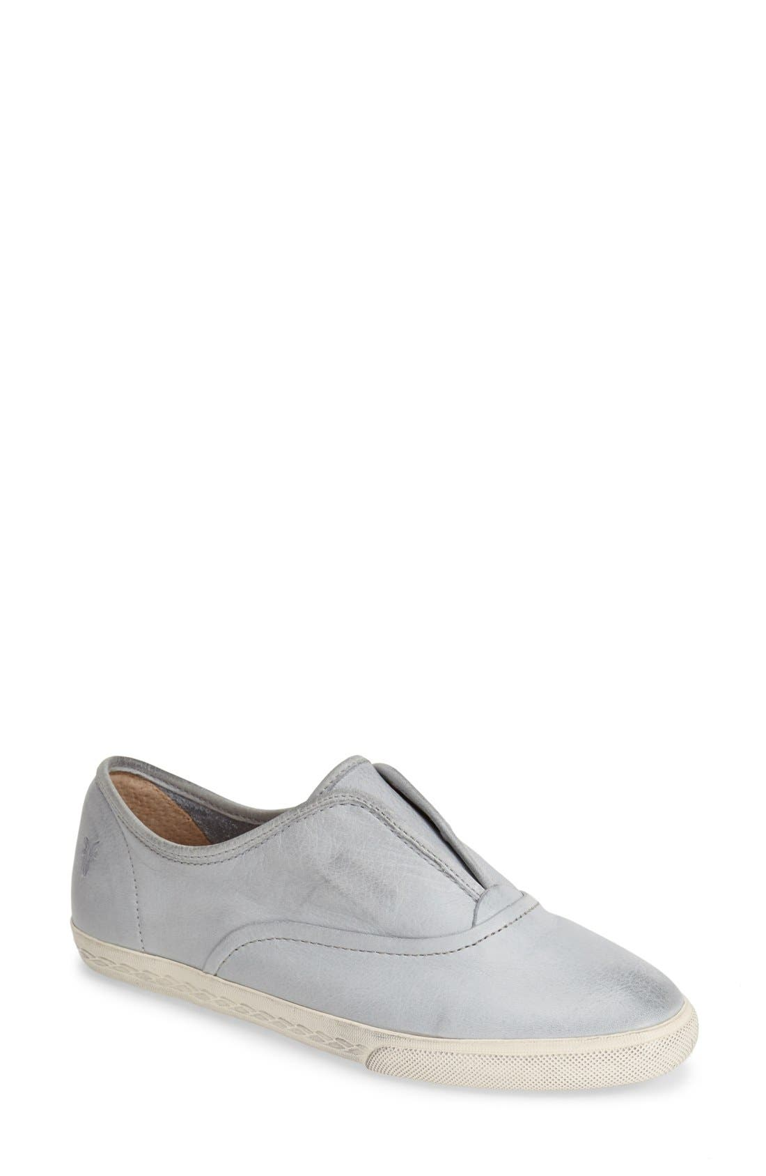 'Mindy' Slip-On Leather Sneaker,                             Main thumbnail 8, color,
