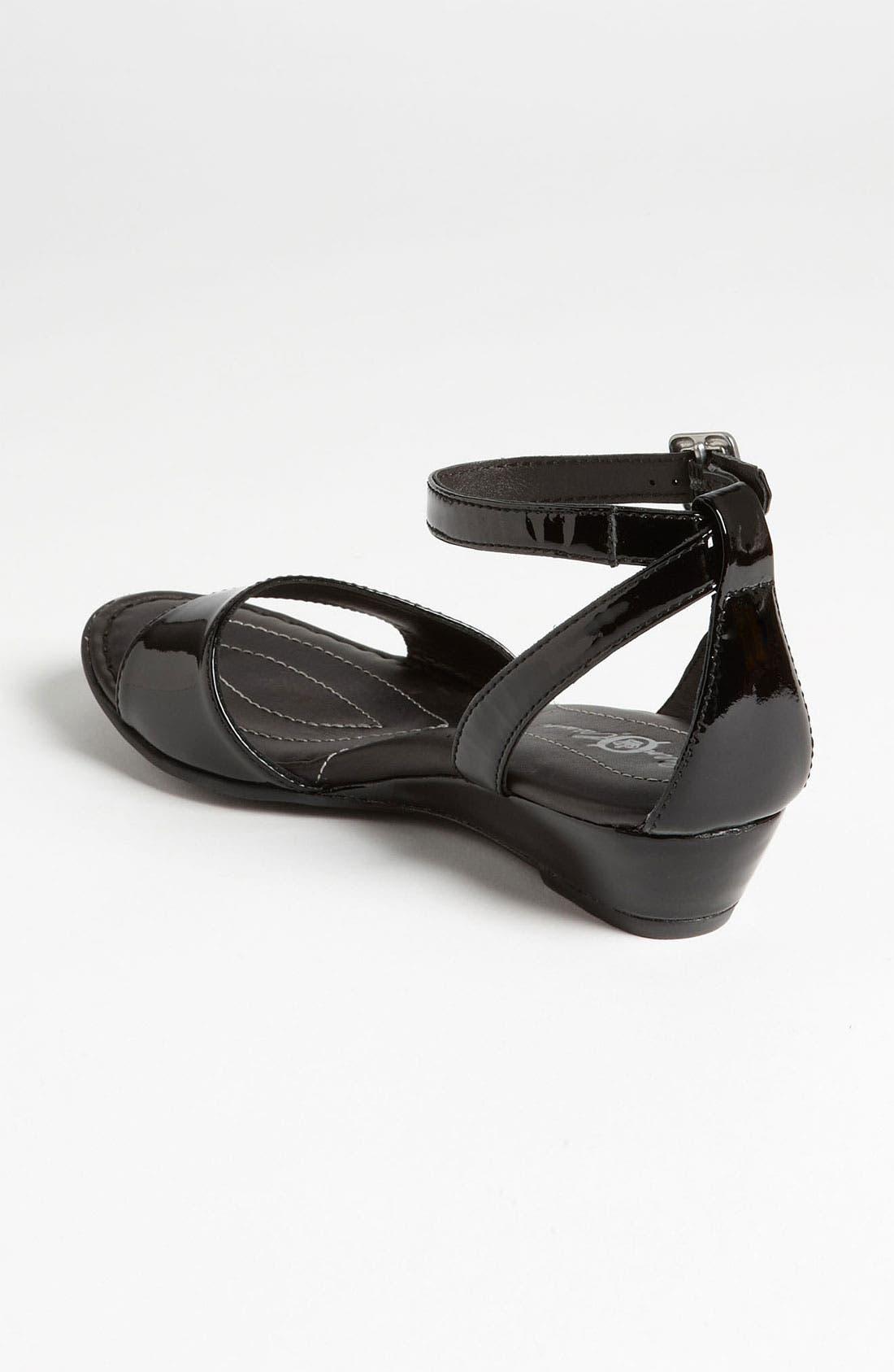 BØRN,                             Crown 'Landis' Sandal,                             Alternate thumbnail 4, color,                             001