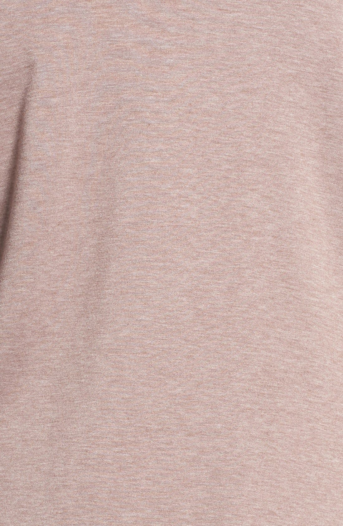 One-Button Fleece Cardigan,                             Alternate thumbnail 221, color,