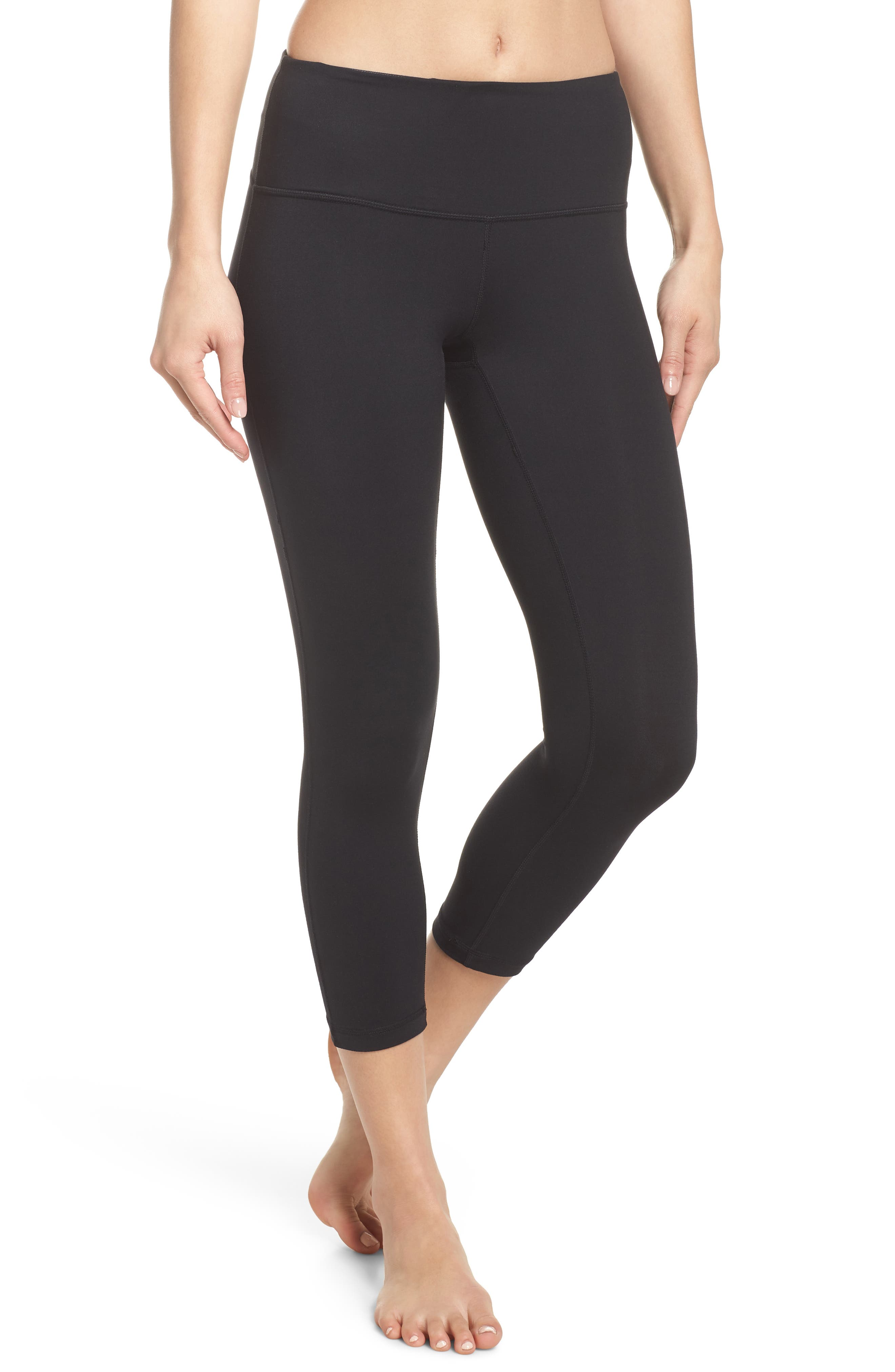 Live In Lite Crop Leggings,                         Main,                         color, 001