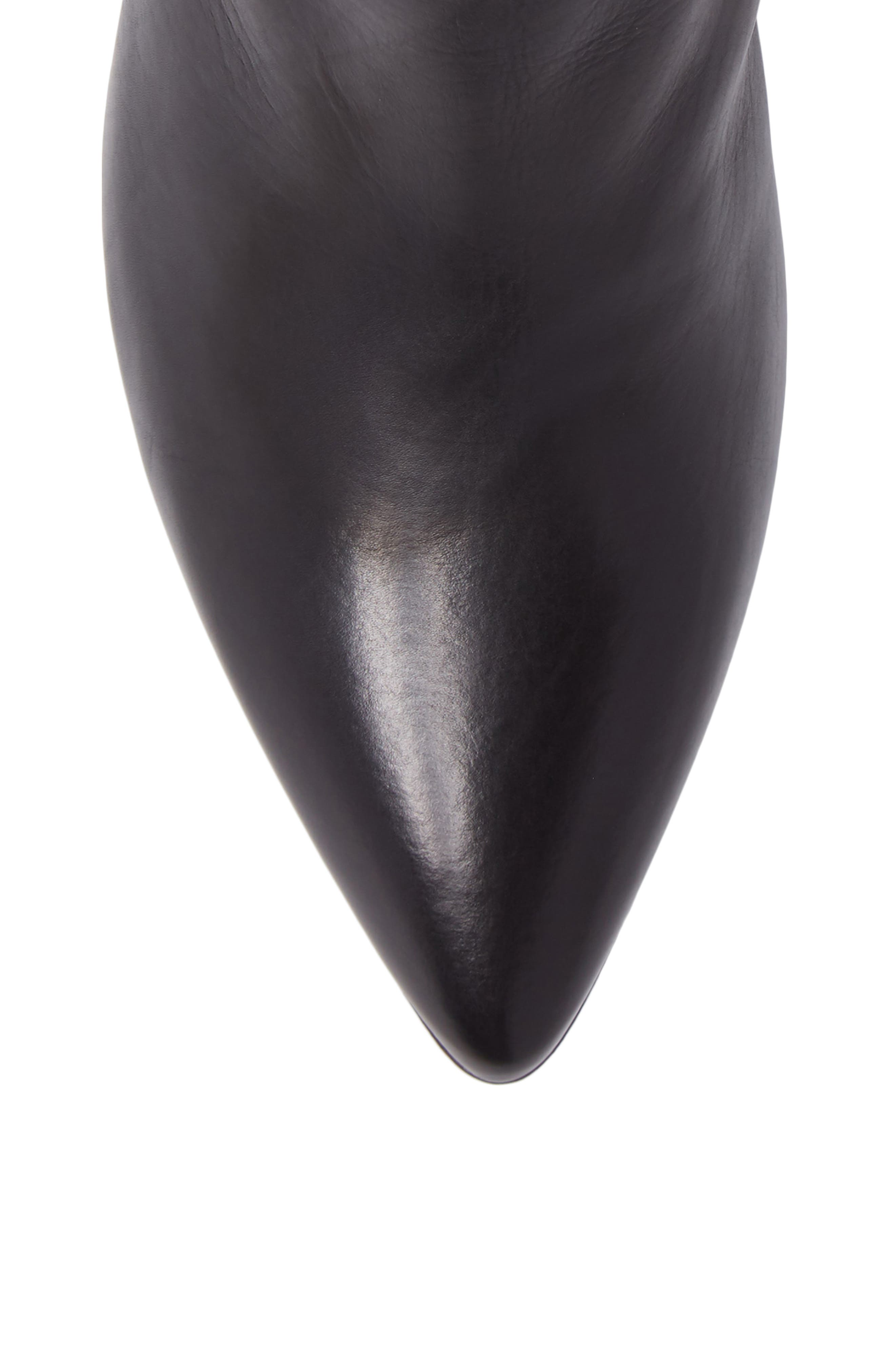 AG Pointed Toe Bootie,                             Alternate thumbnail 5, color,                             001