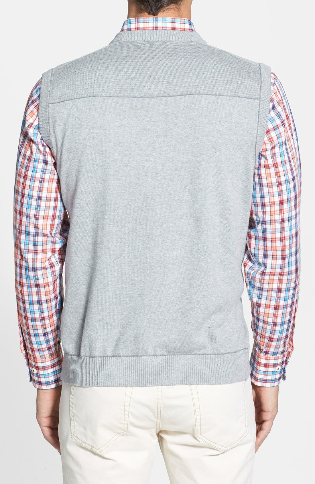 Broadview V-Neck Sweater Vest,                             Alternate thumbnail 9, color,