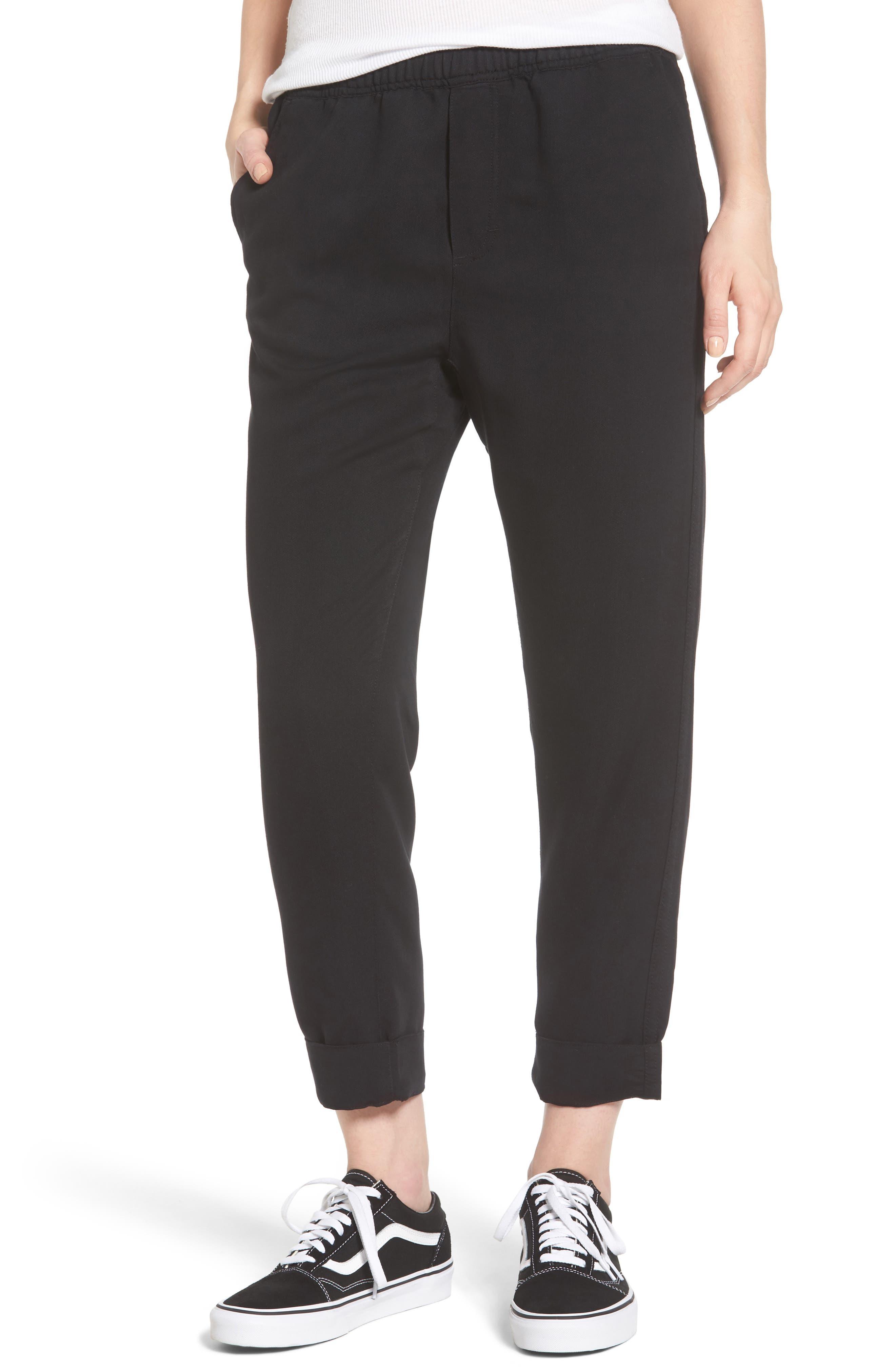 Jett Crop Pants,                         Main,                         color, 001