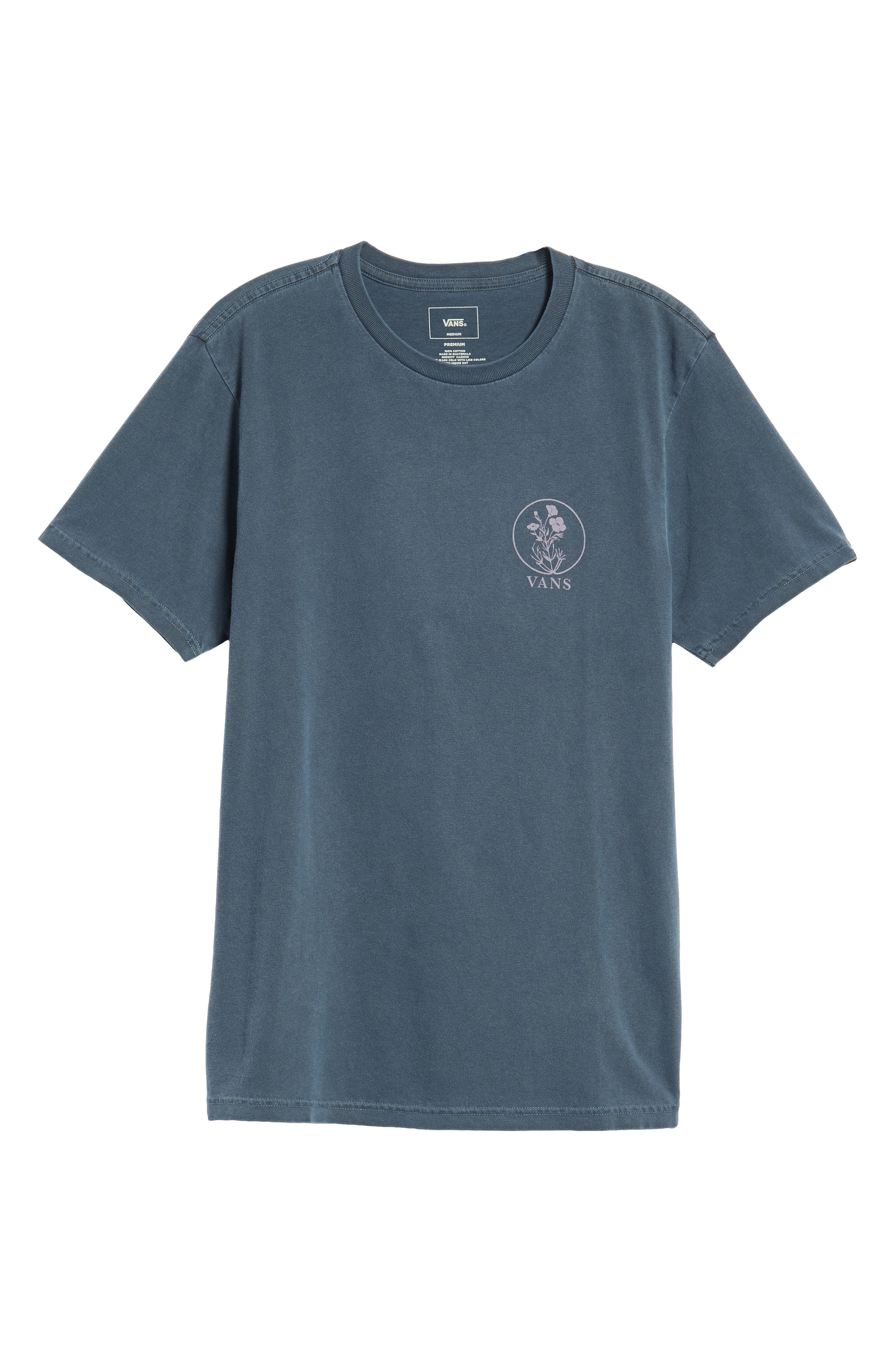 Vintage California Bred Graphic T-Shirt,                             Alternate thumbnail 6, color,                             DRESS BLUES