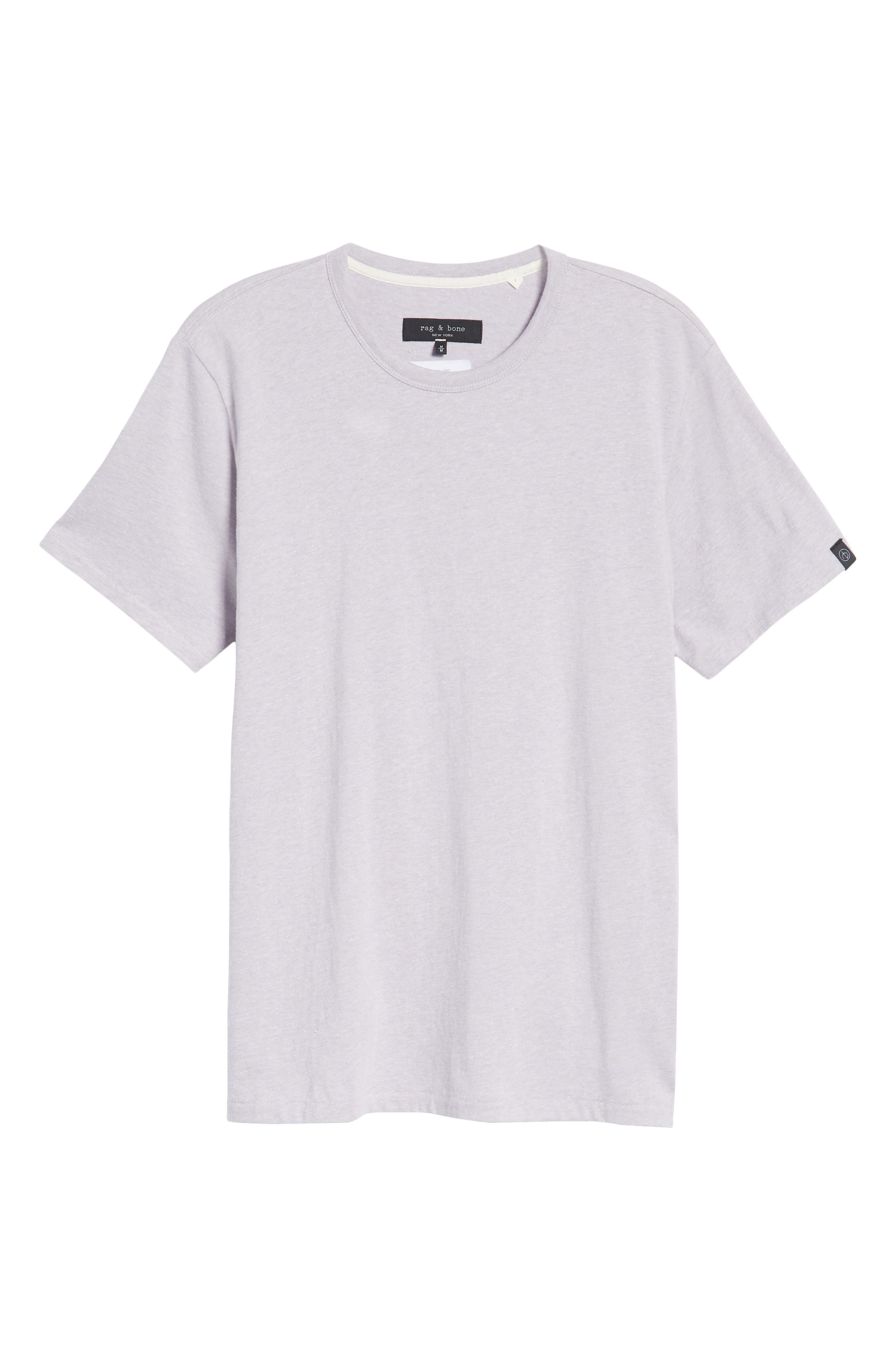 James Crewneck T-Shirt,                             Alternate thumbnail 6, color,                             525