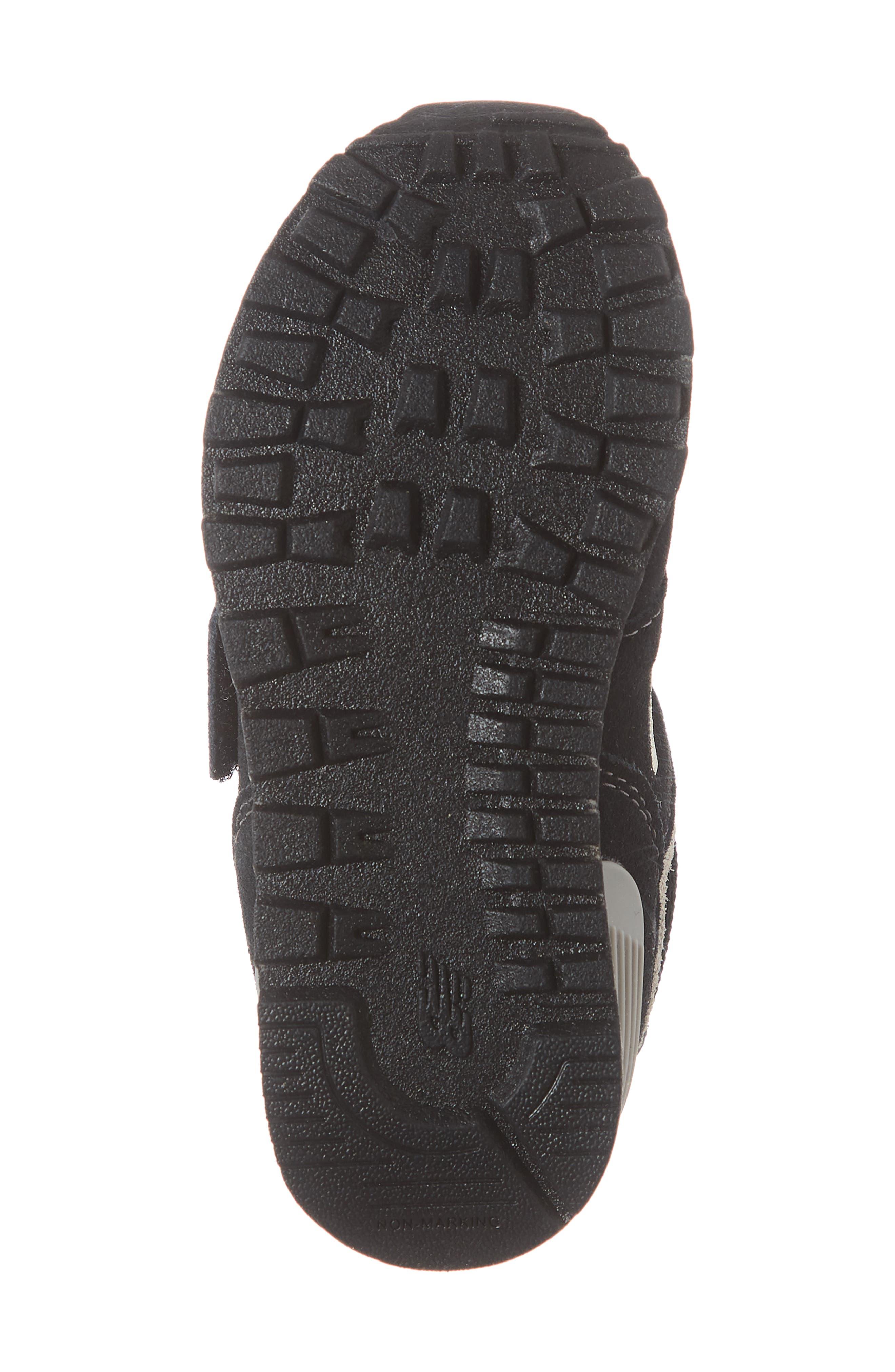 '574 Core' Sneaker,                             Alternate thumbnail 6, color,                             BLACK/ GREY