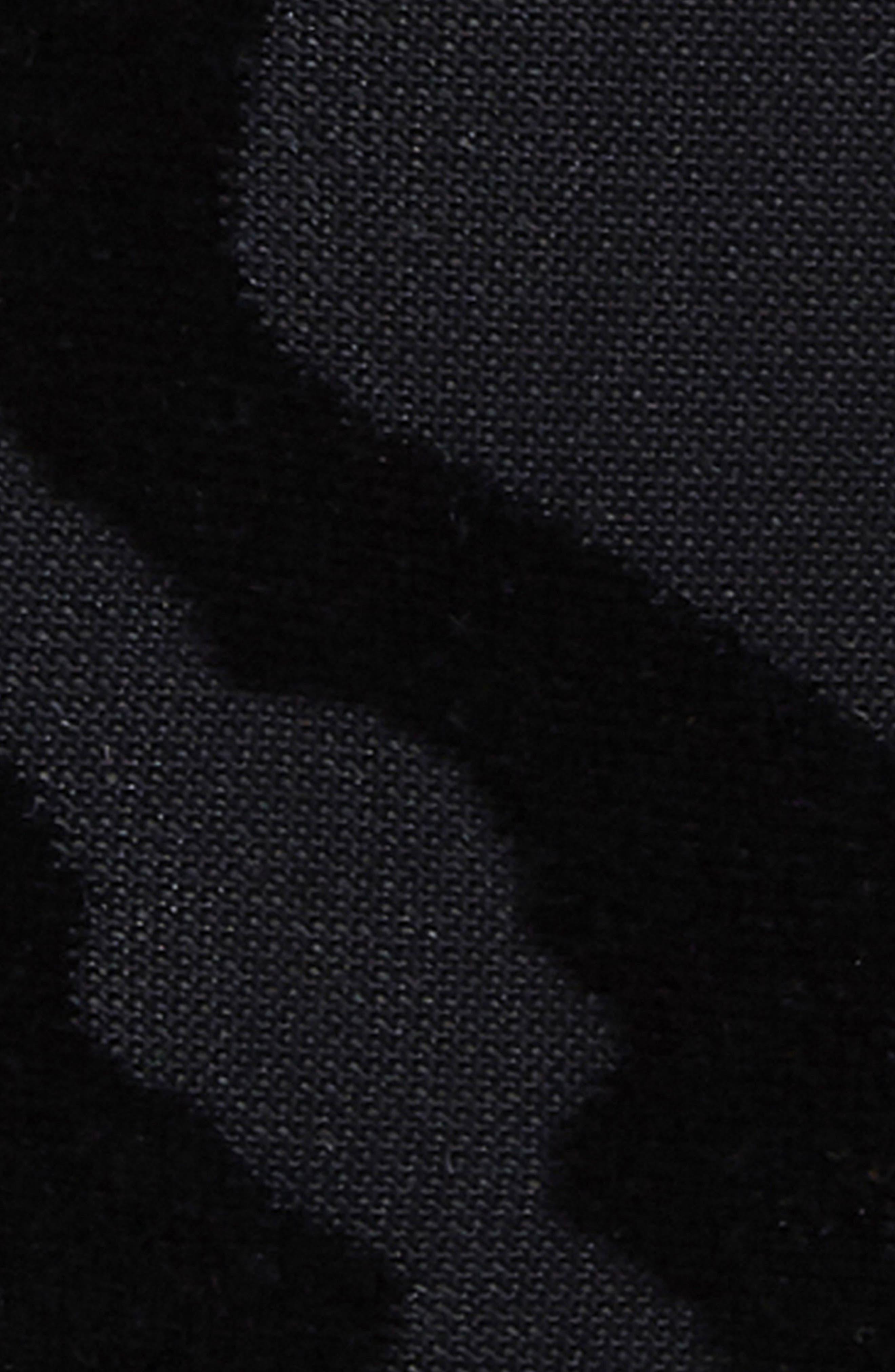 Beliza Strappy Thong Bodysuit,                             Alternate thumbnail 5, color,                             001