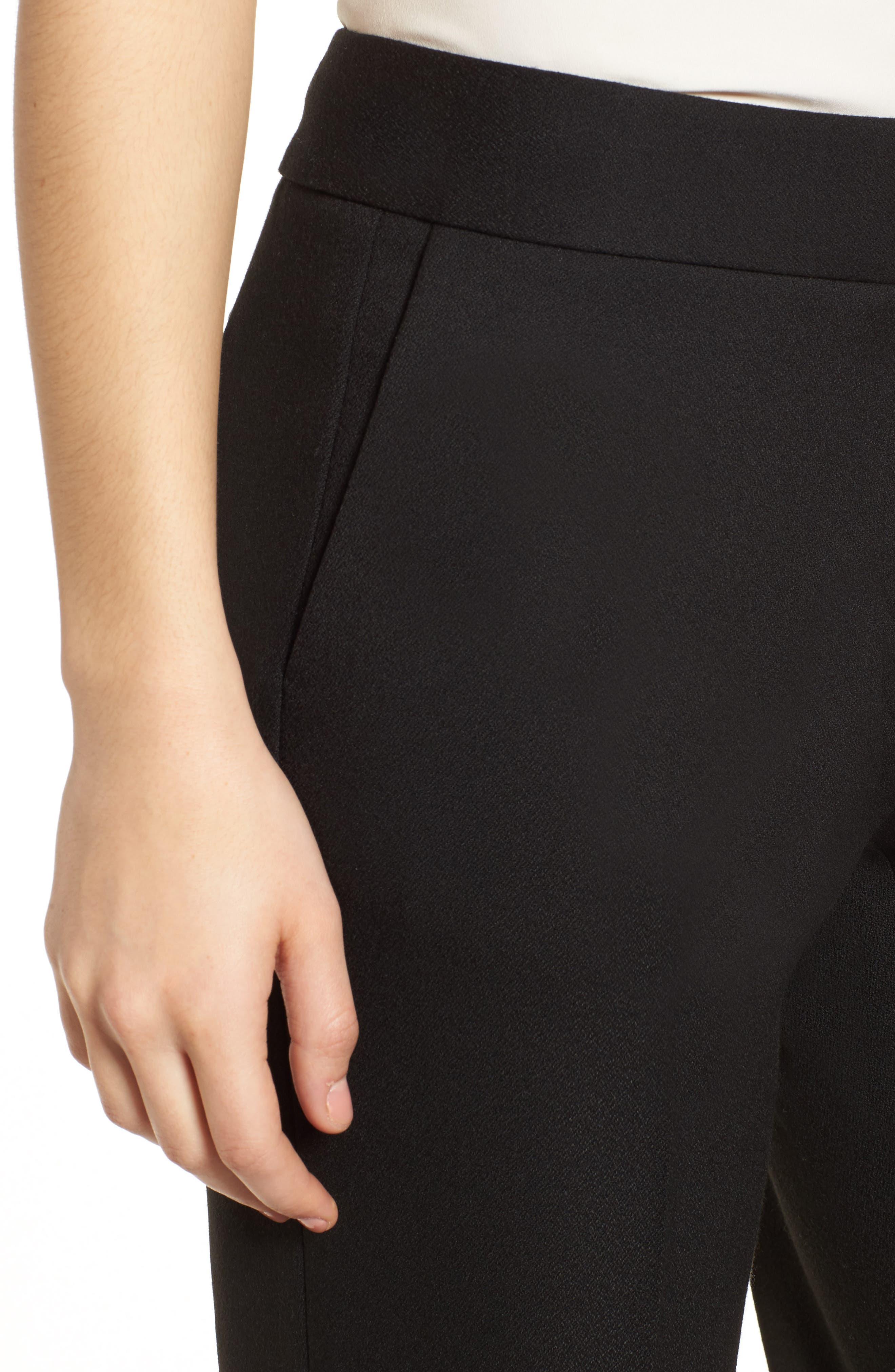 Classic Suit Pants,                             Alternate thumbnail 4, color,                             001