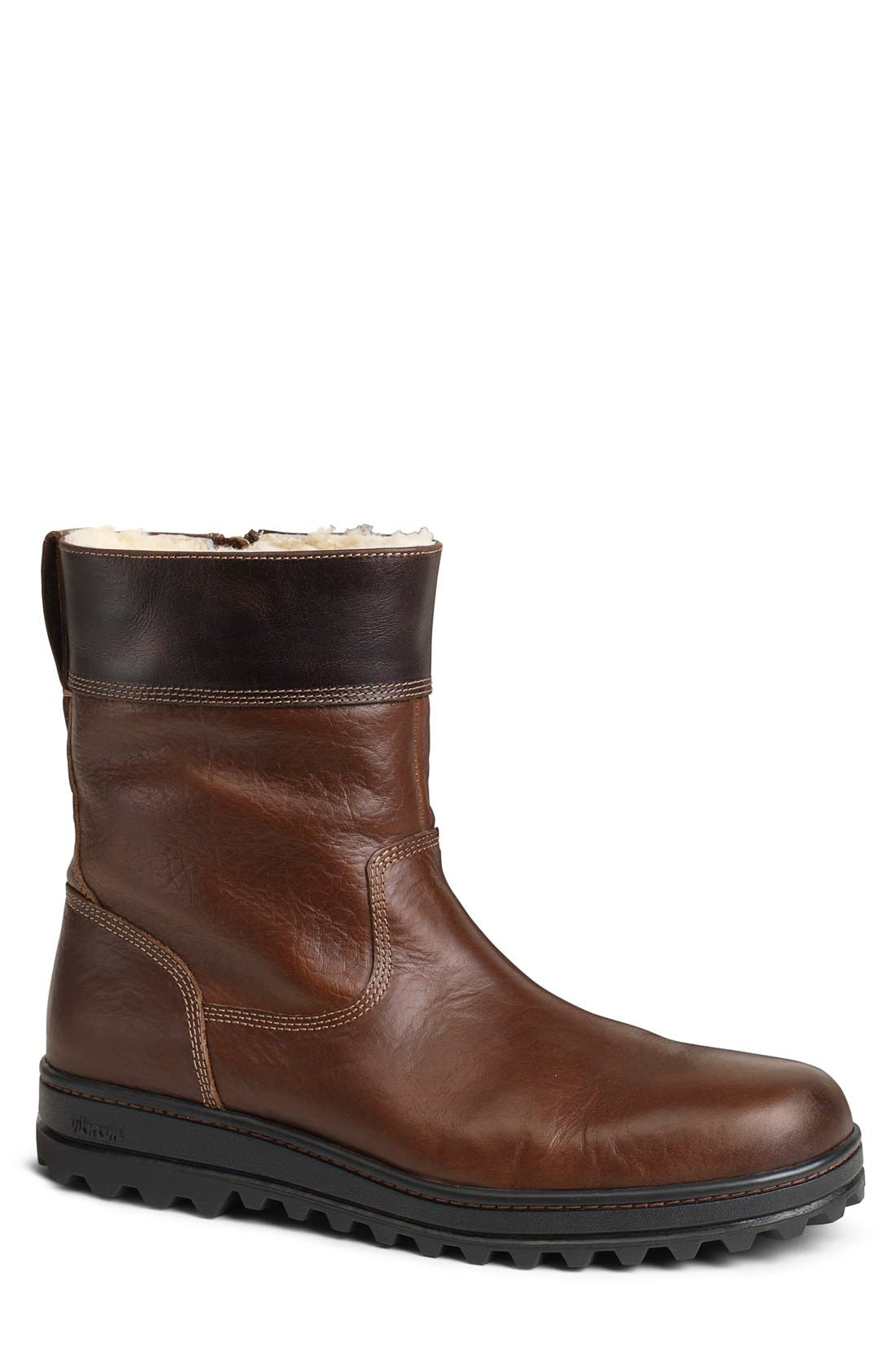 'Winslow' Plain Toe Boot,                             Main thumbnail 1, color,