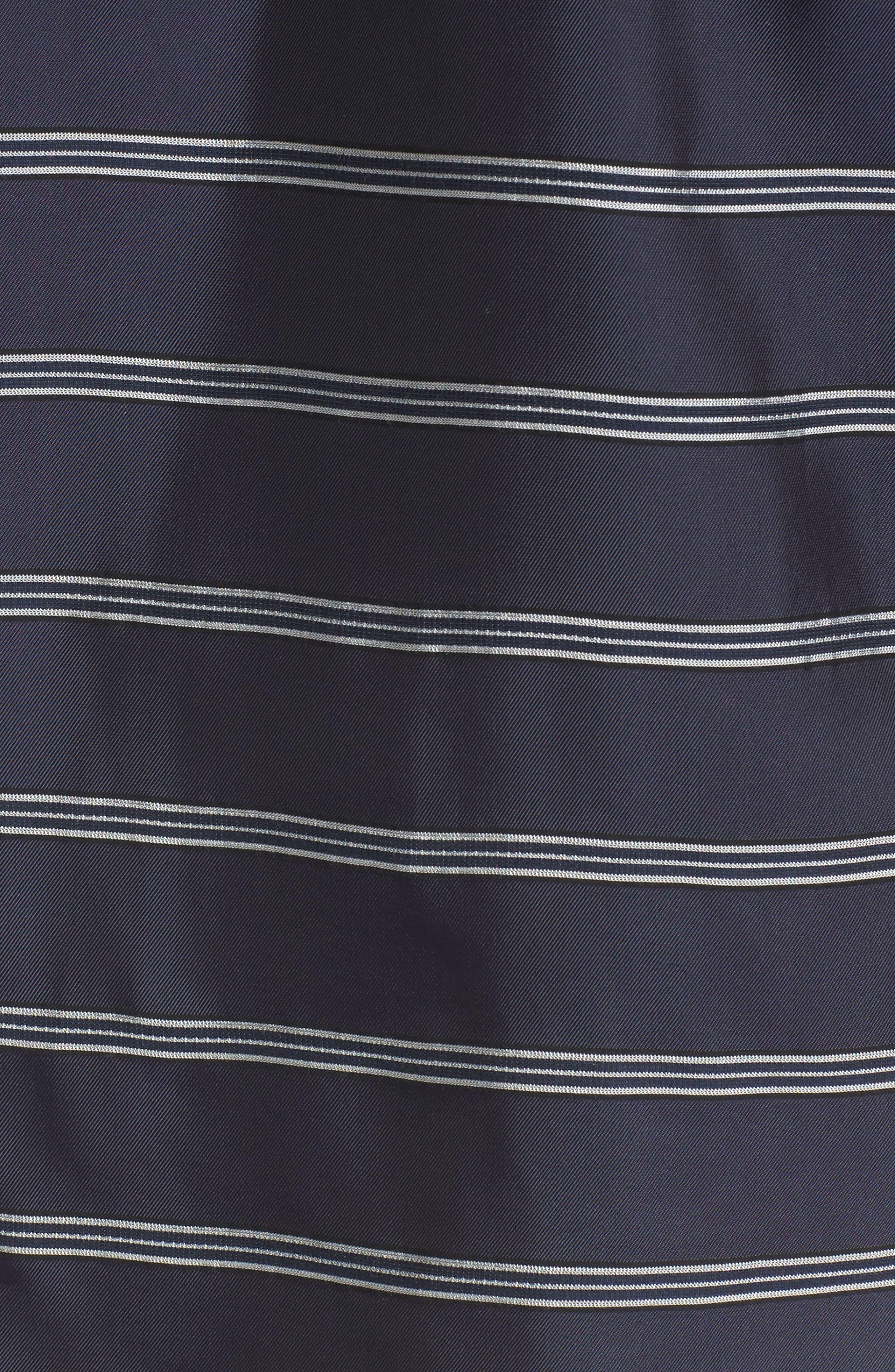 Striped Patch Pocket Shirt,                             Alternate thumbnail 5, color,                             410