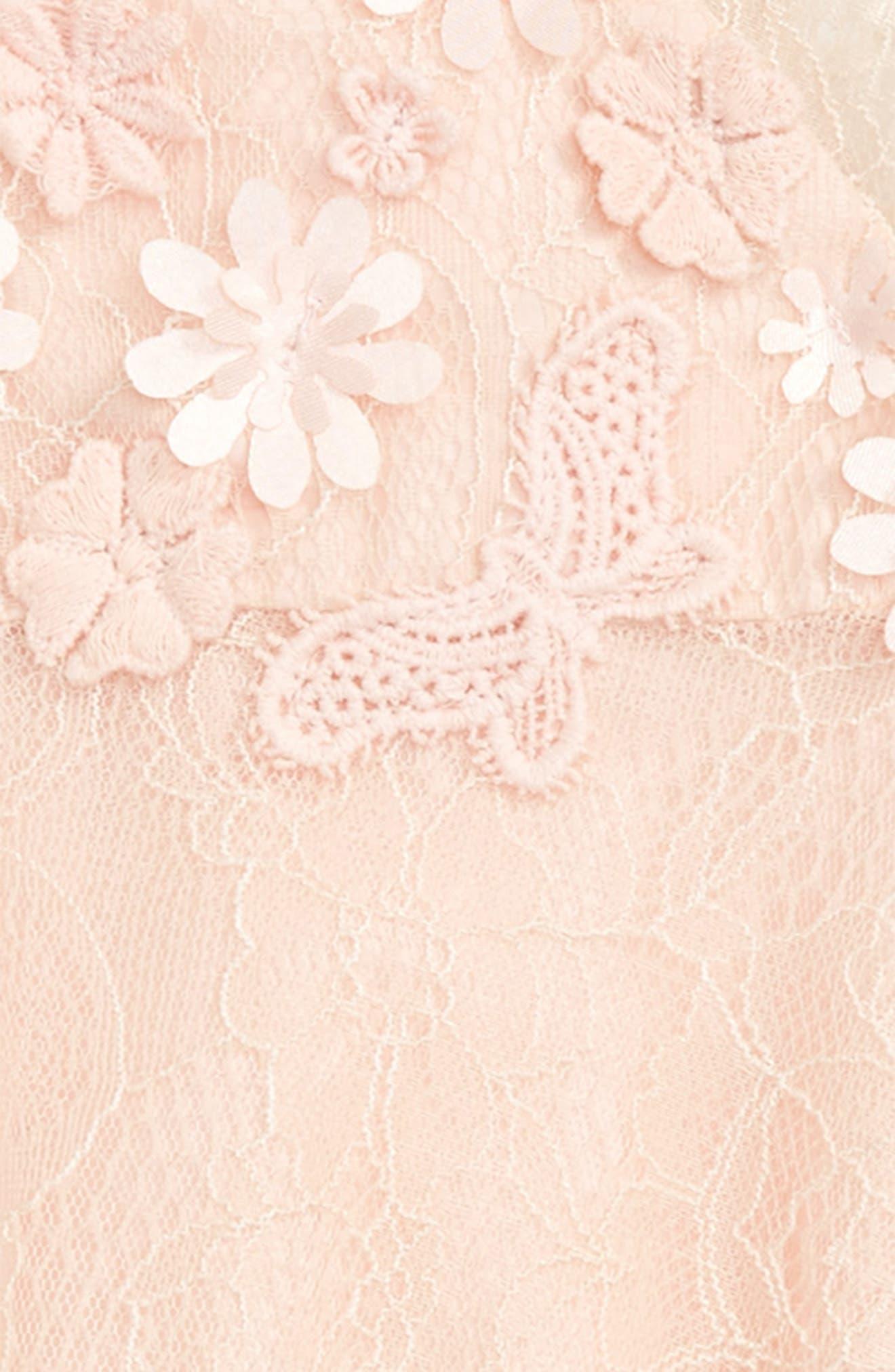 Floral Embellished Swing Dress,                             Alternate thumbnail 2, color,                             680