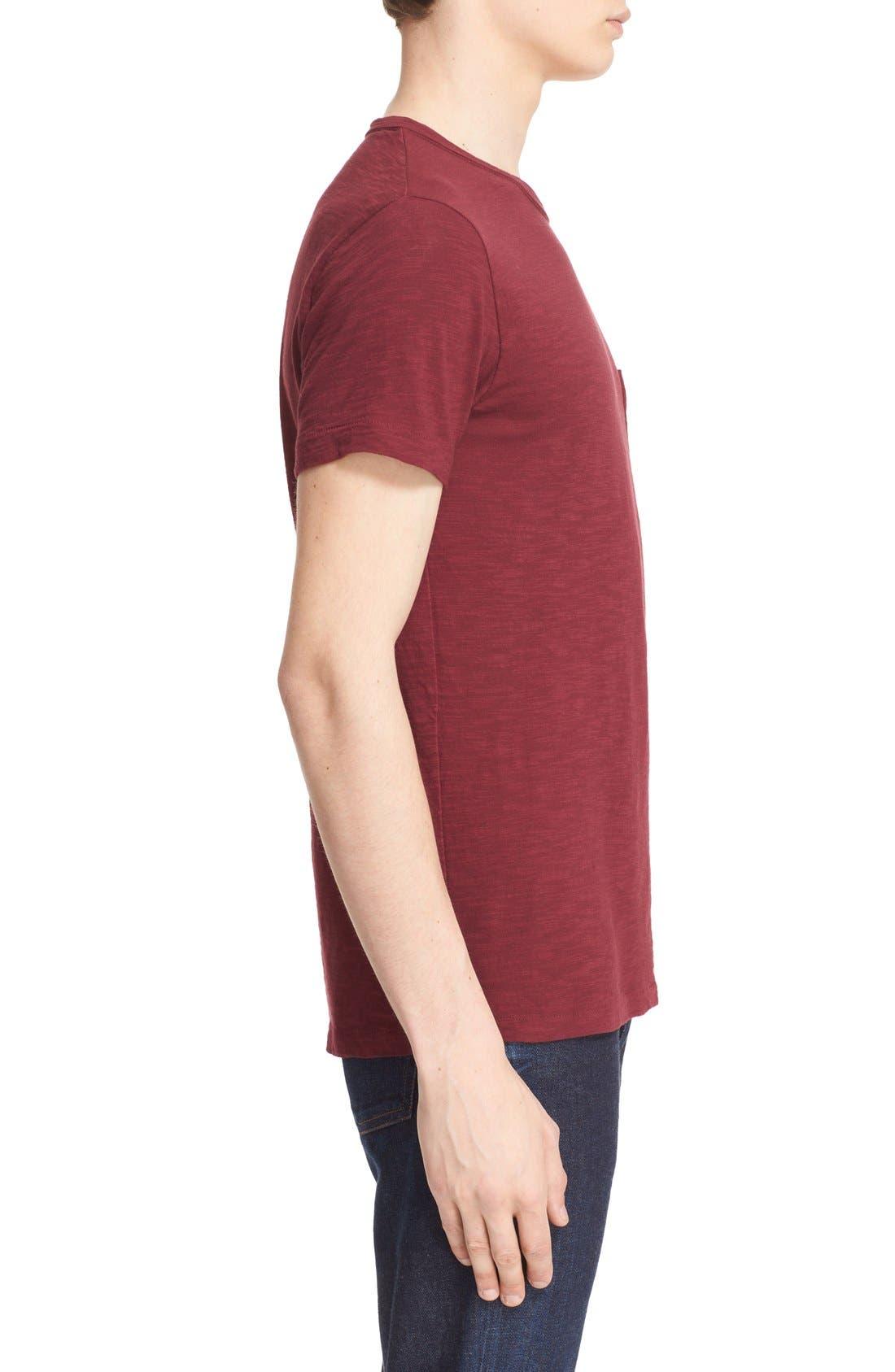'Classic' Pocket T-Shirt,                             Alternate thumbnail 12, color,