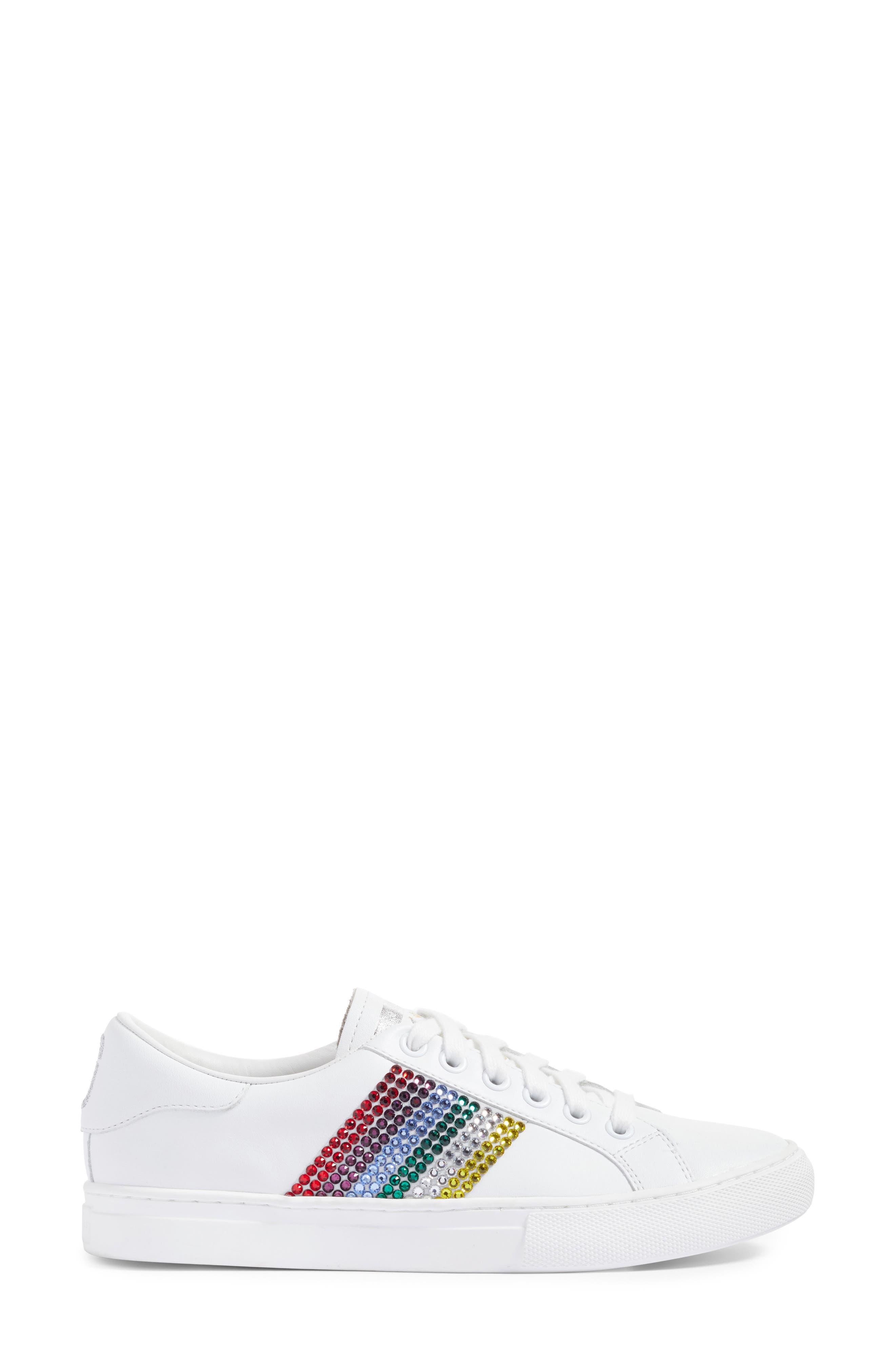 Empire Embellished Sneaker,                             Alternate thumbnail 6, color,