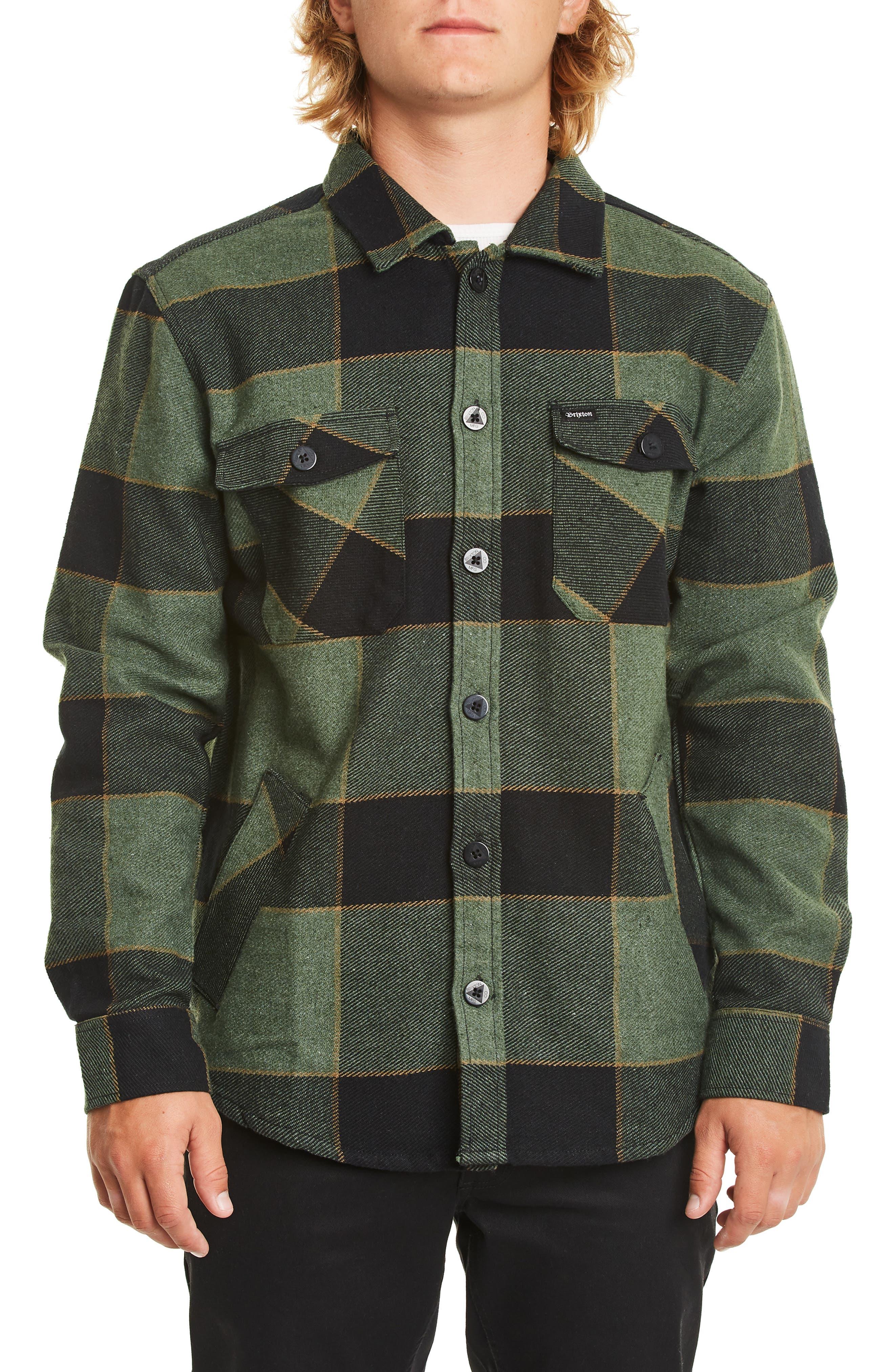Brixton Durham Flannel Shirt