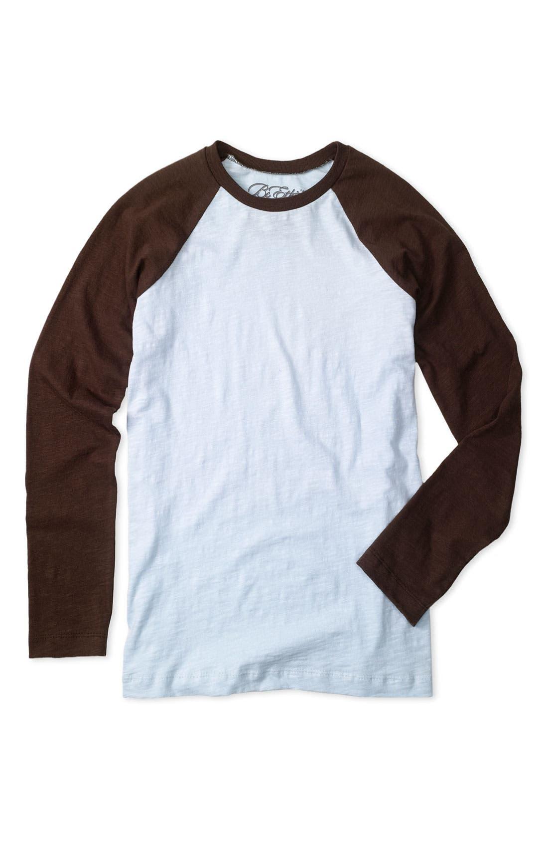 BC ETHIC,                             Long Sleeve Baseball T-Shirt,                             Main thumbnail 1, color,                             475