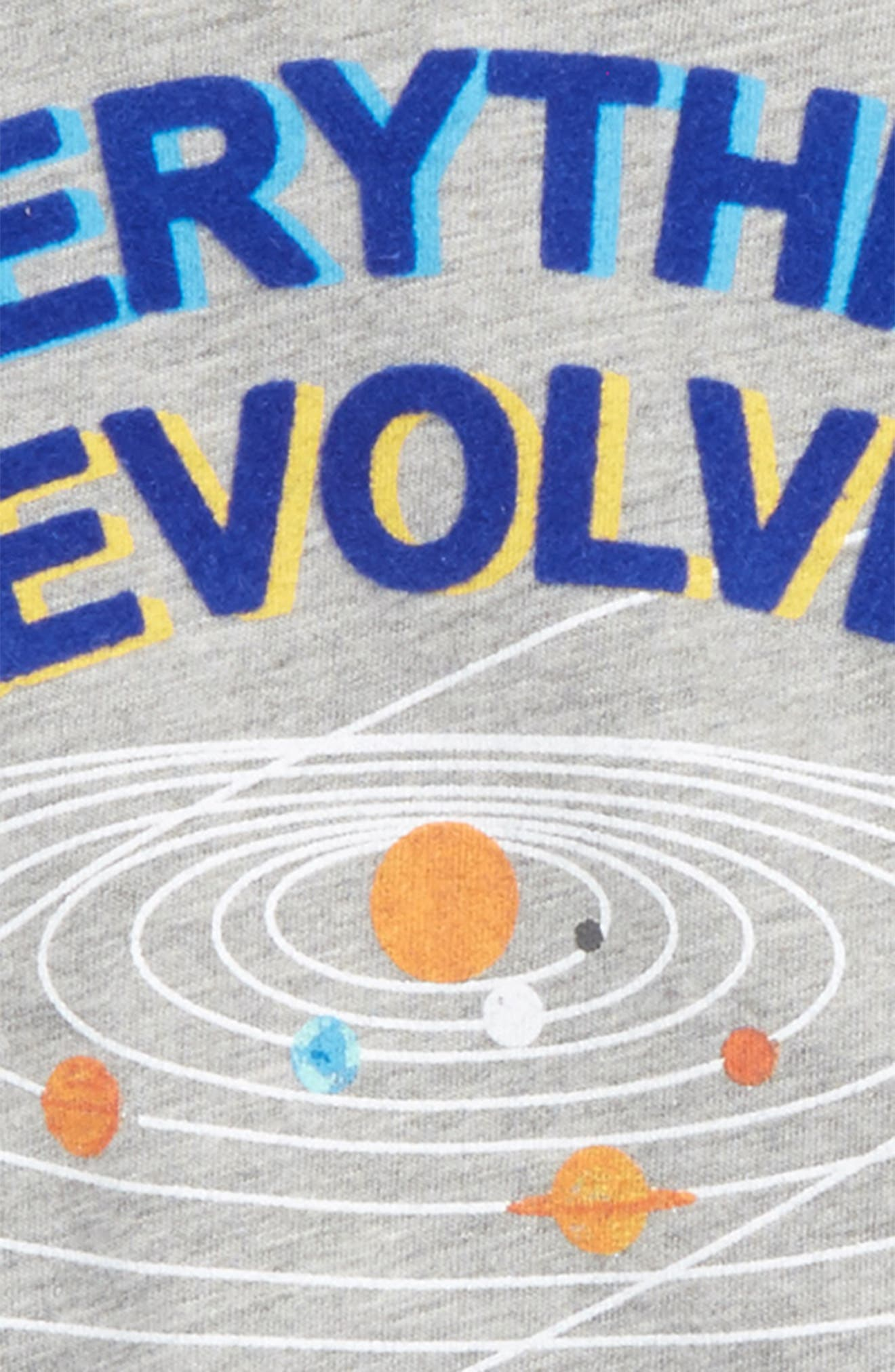 Everything Revolves Around Me T-Shirt,                             Alternate thumbnail 4, color,                             054
