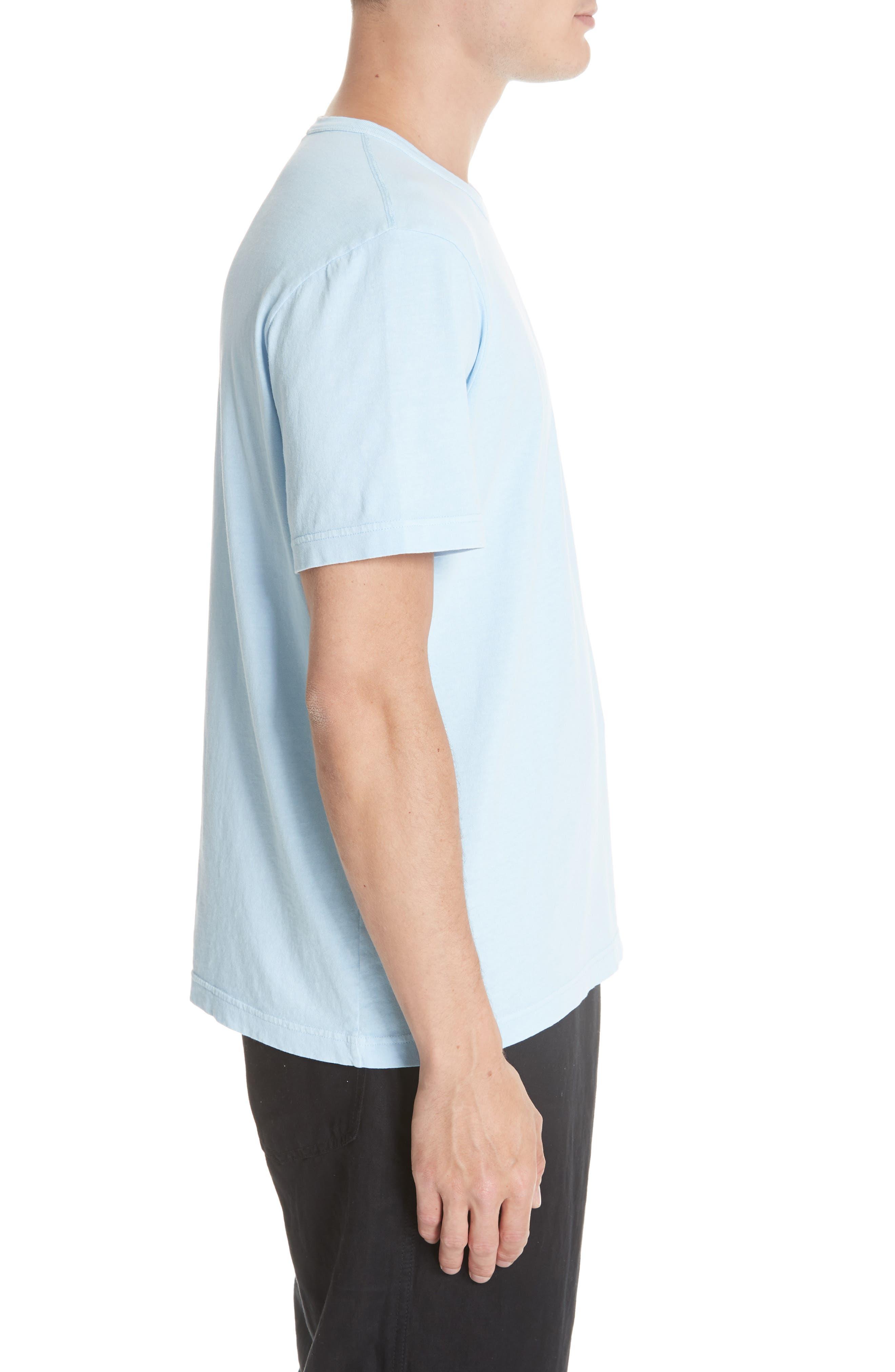 New Box T-Shirt,                             Alternate thumbnail 3, color,                             LIGHT BLUE