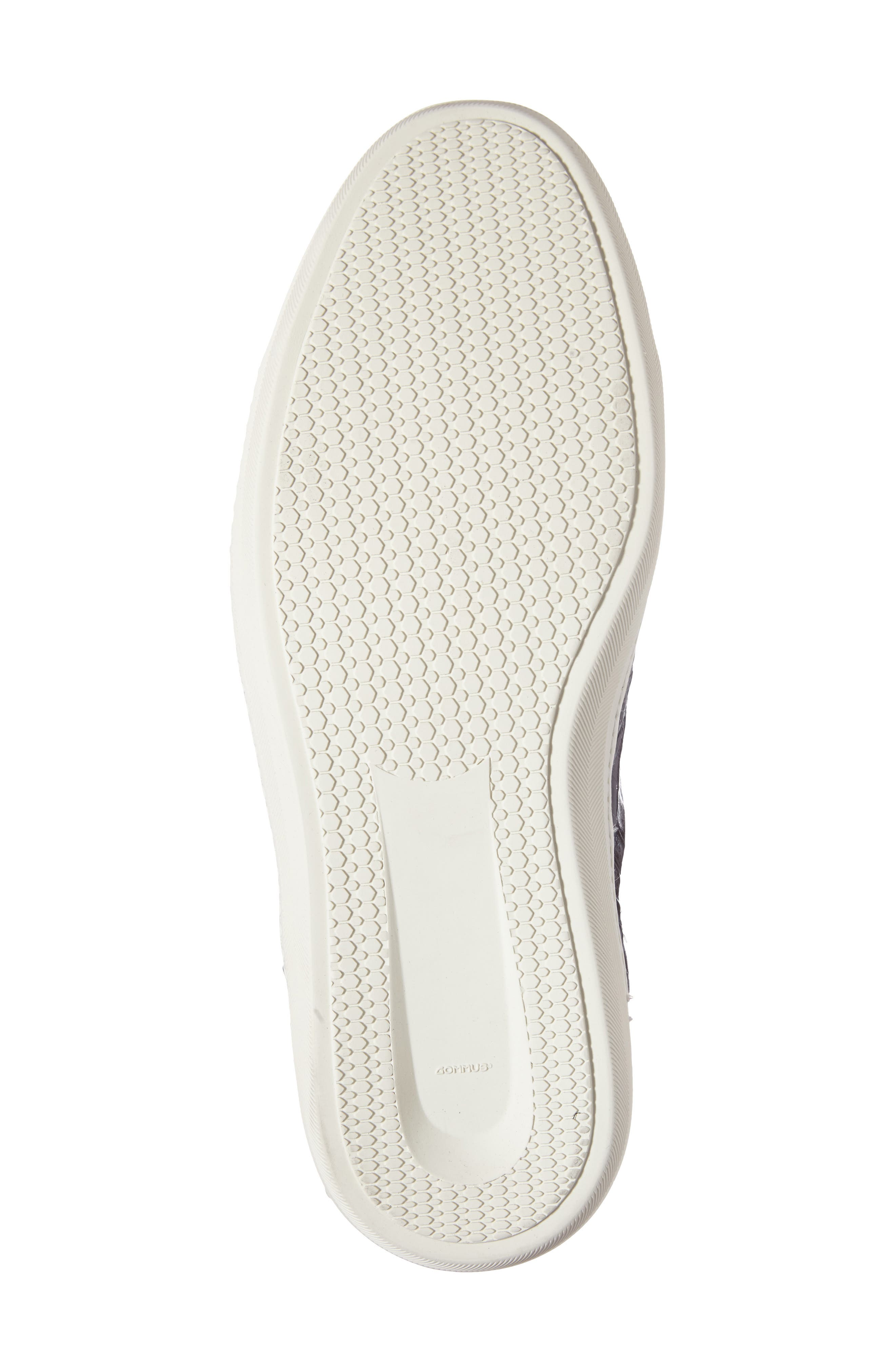 Hickman Genuine Crocodile Sneaker,                             Alternate thumbnail 4, color,                             020