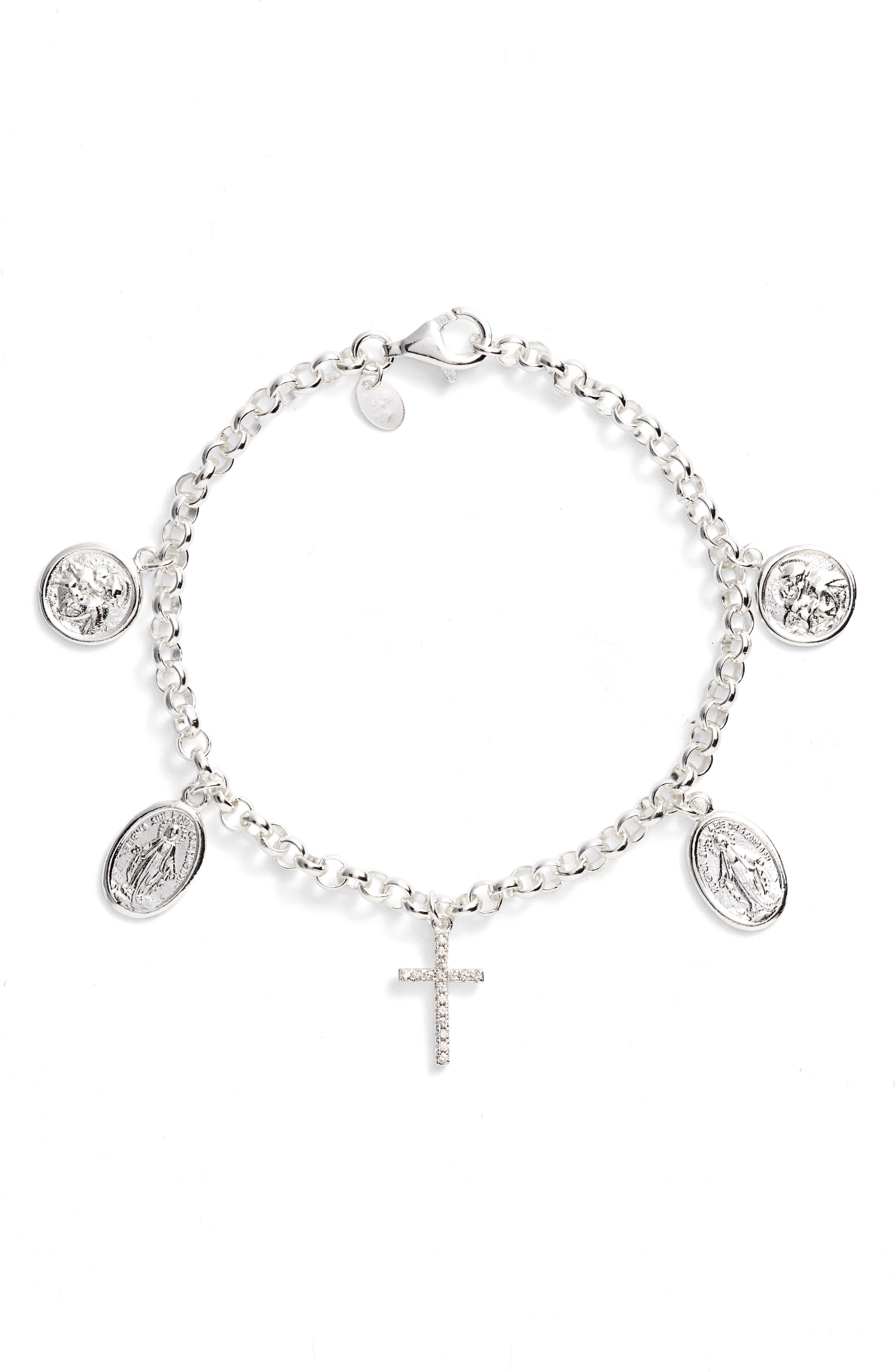 Guadalupe Charm Bracelet,                         Main,                         color, 040