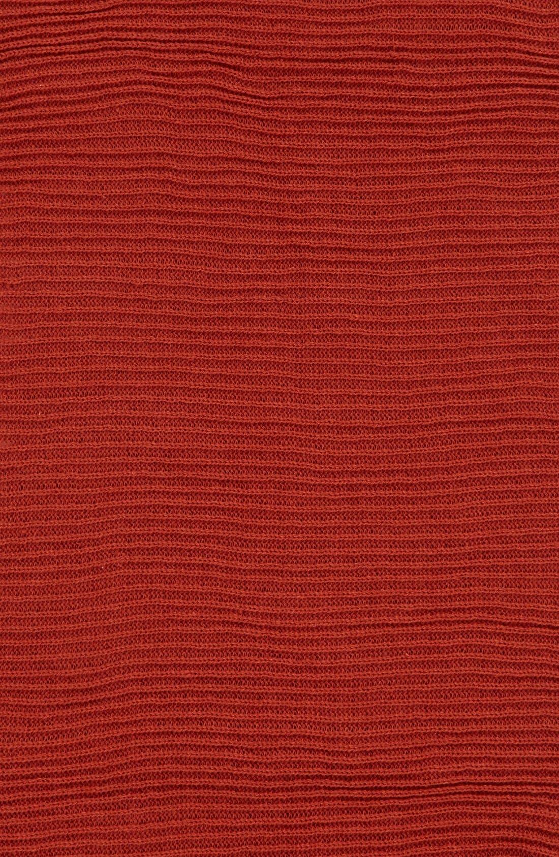 Rib Knit Fringe Infinity Scarf,                             Alternate thumbnail 17, color,