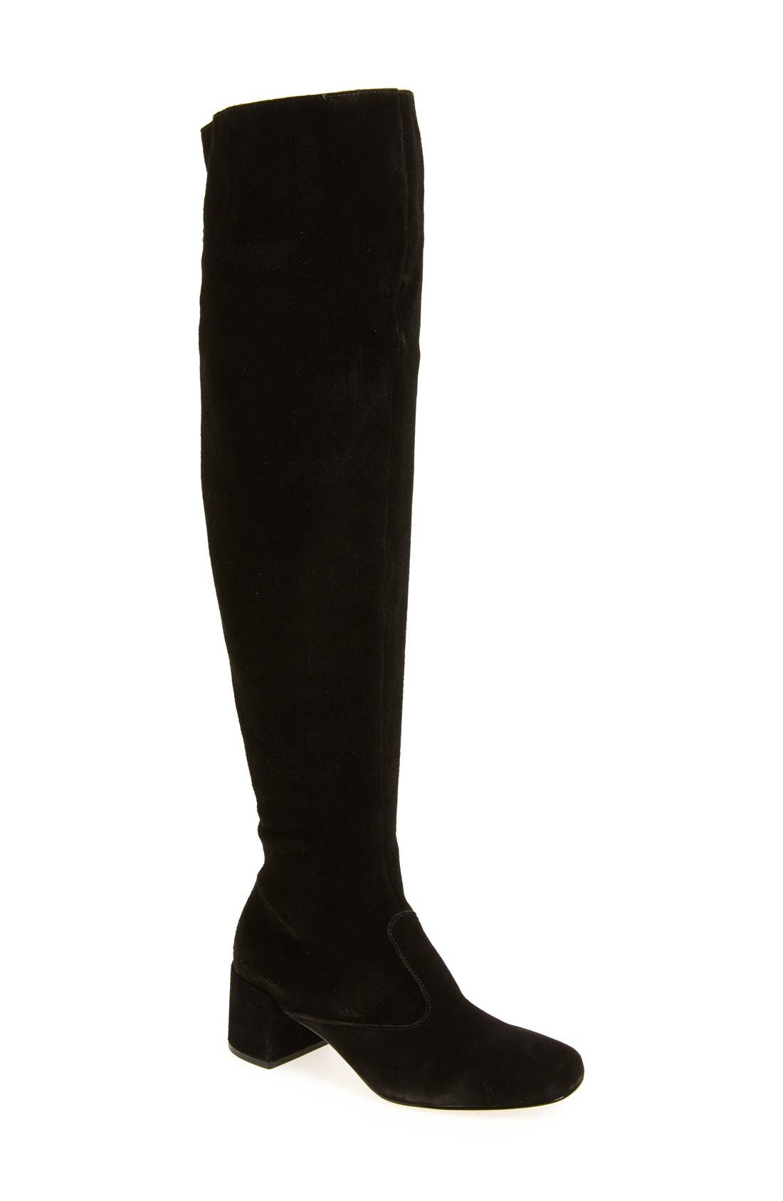 Reginald Over the Knee Boot,                             Main thumbnail 1, color,                             005