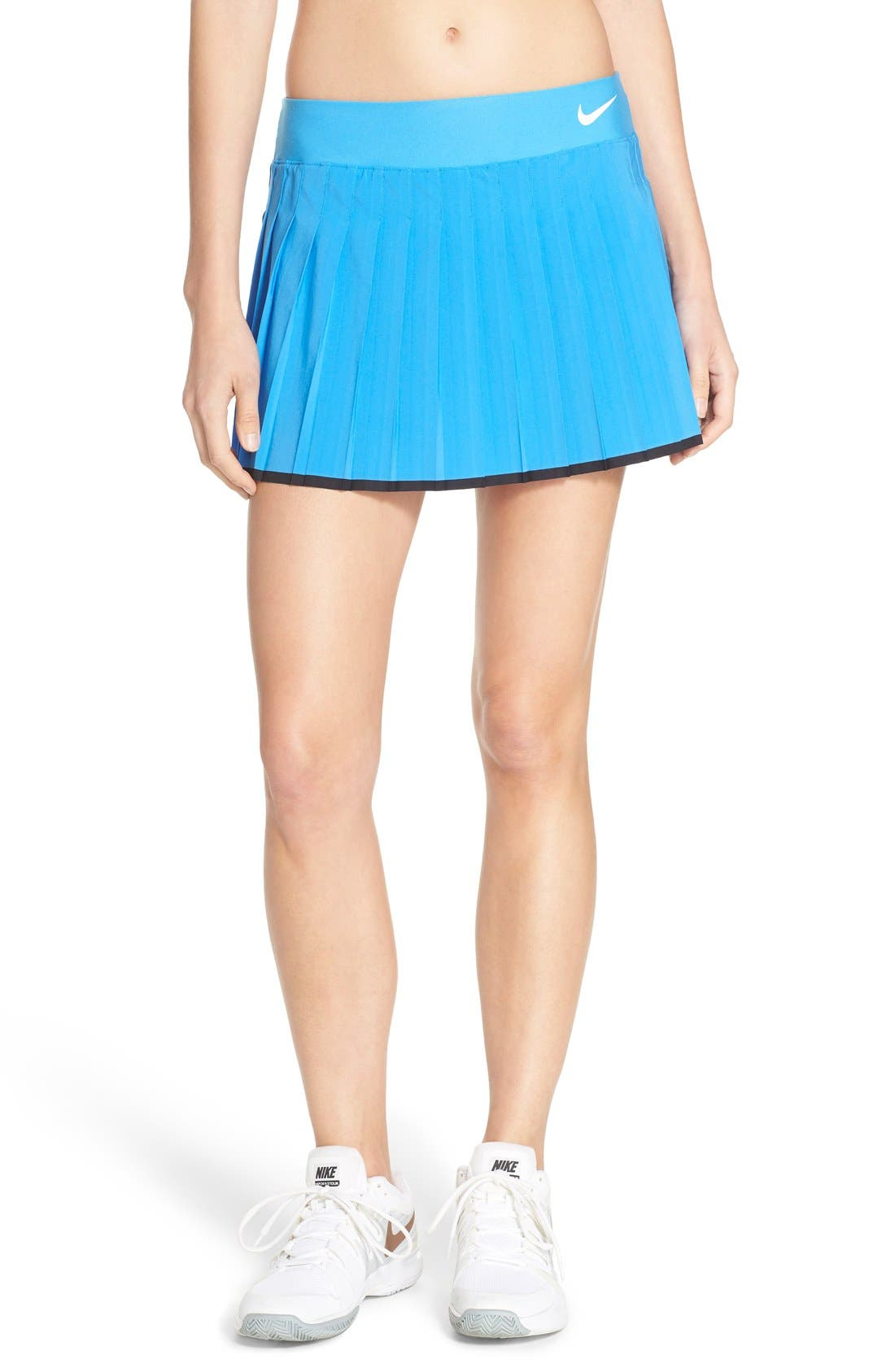 'Victory' Pleat Dri-FIT Tennis Skirt,                             Main thumbnail 11, color,