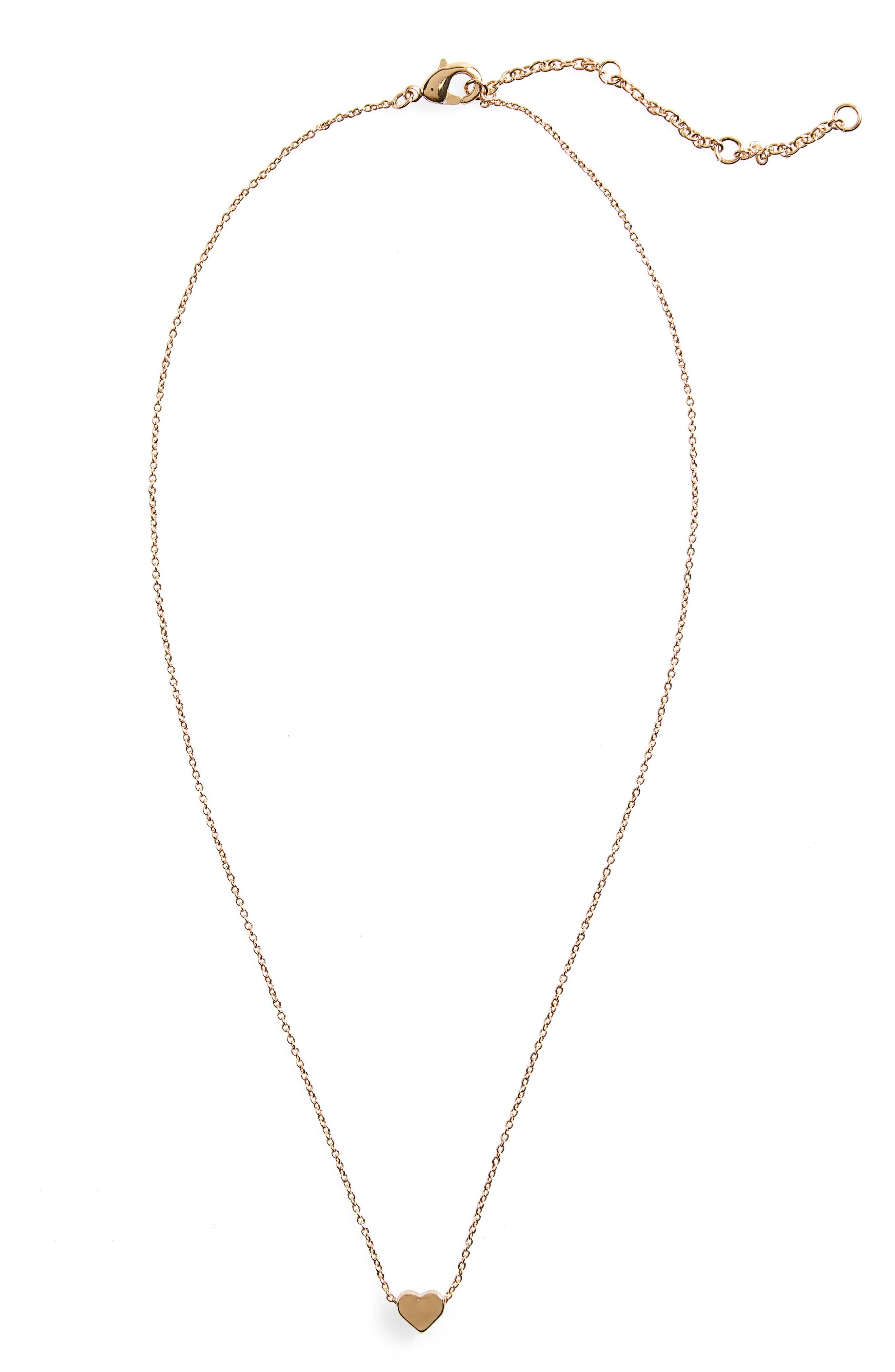 Heart Necklace,                         Main,                         color, 710