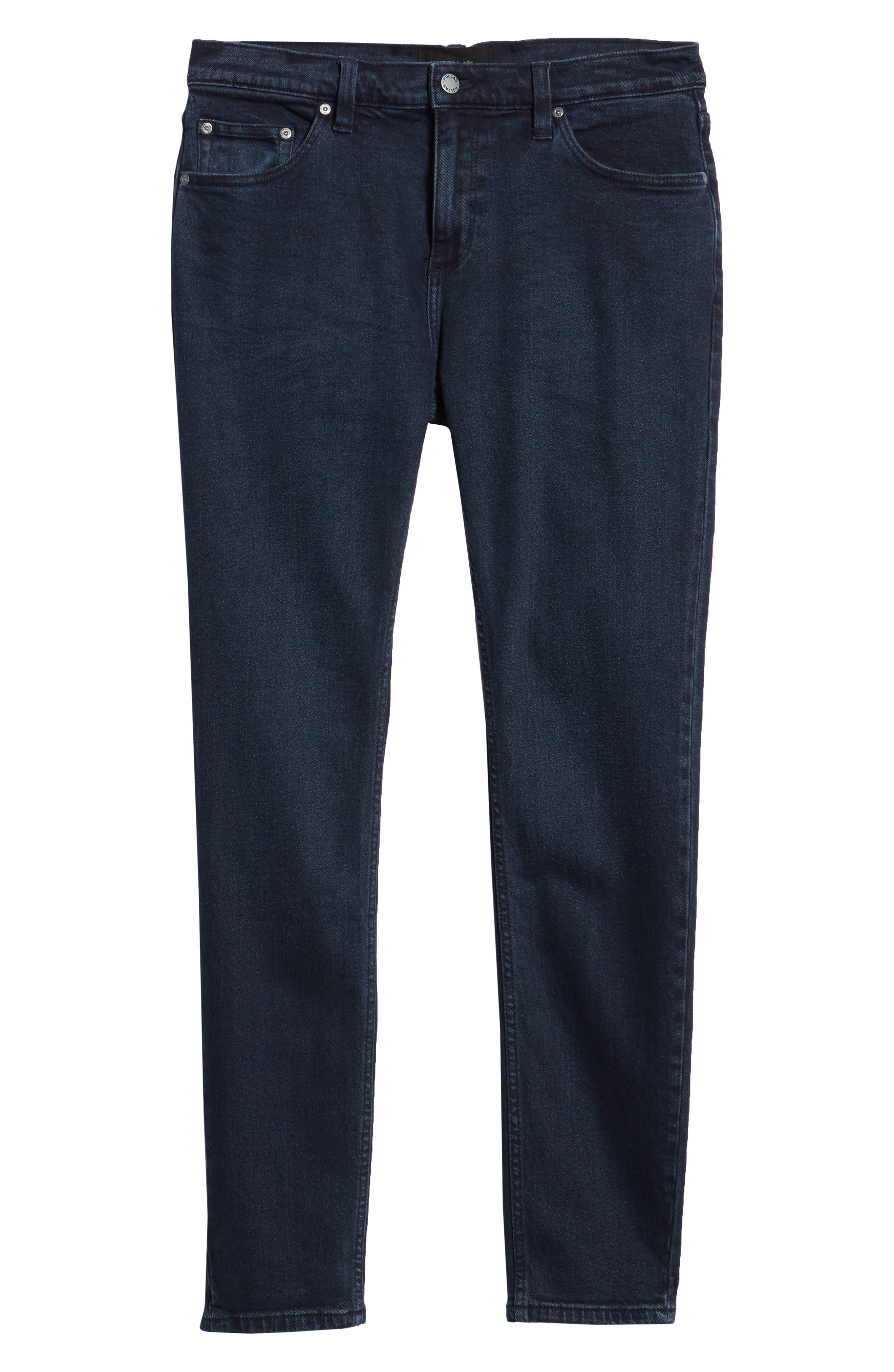 Stinger Skinny Fit Jeans,                             Alternate thumbnail 6, color,                             STONE FREE BLUE