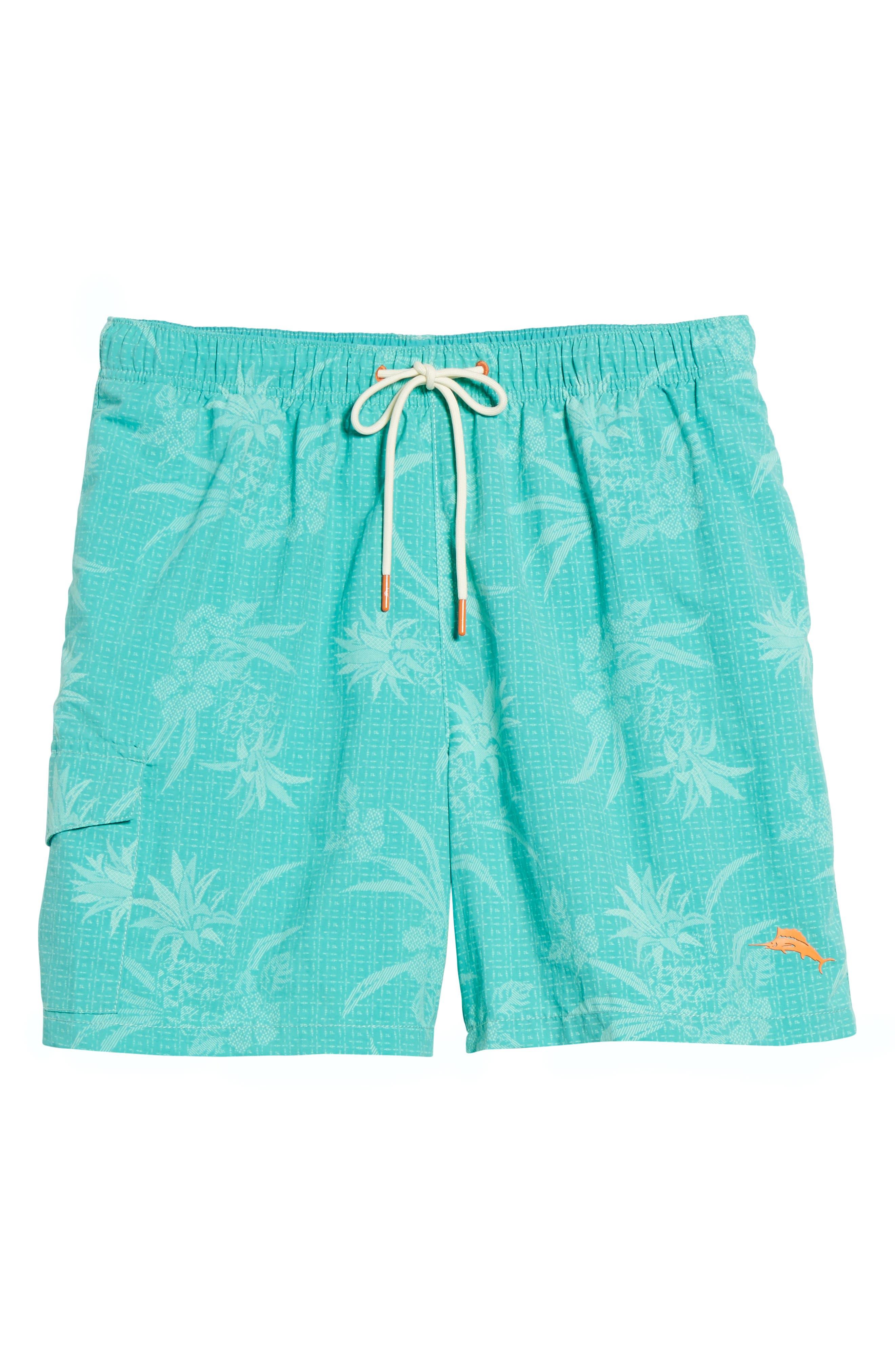 Naples Huli Pineapple Swim Trunks,                             Alternate thumbnail 11, color,