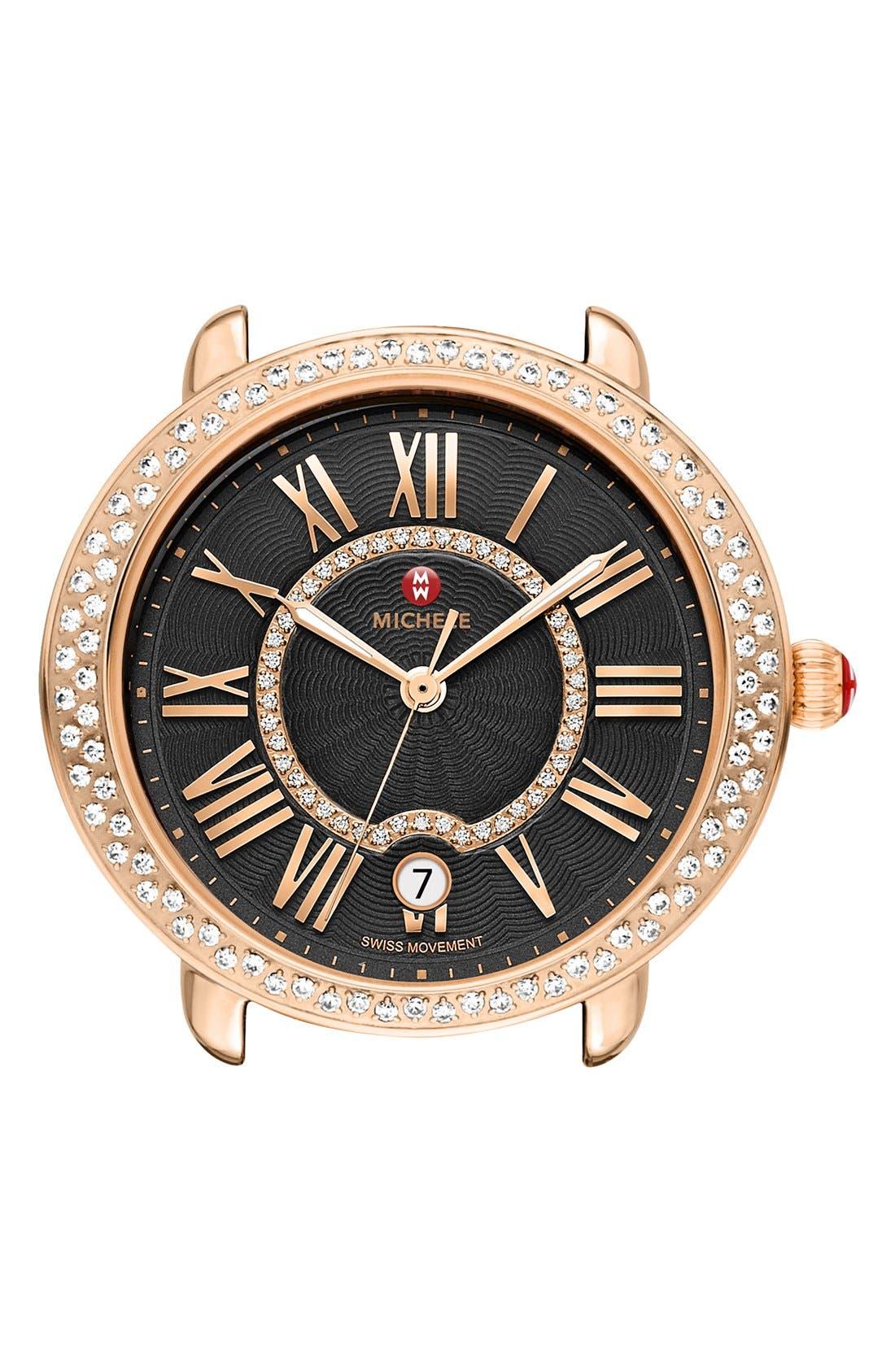 Serein 16 Diamond Watch Case, 34mm x 36mm,                             Main thumbnail 2, color,