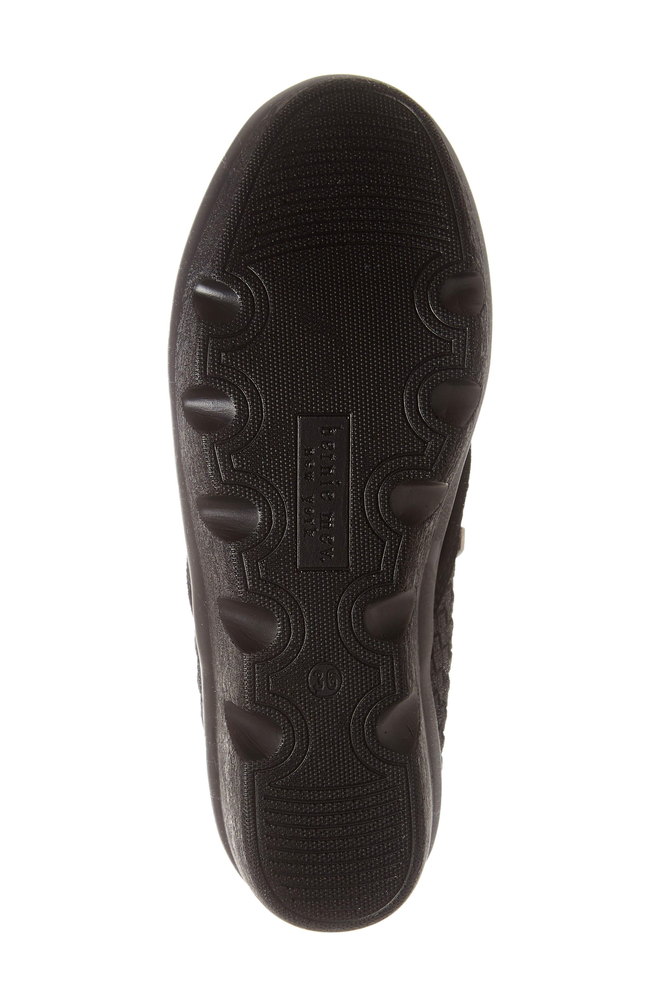 Lihi Ankle Boot,                             Alternate thumbnail 6, color,                             BLACK METALLIC LEATHER