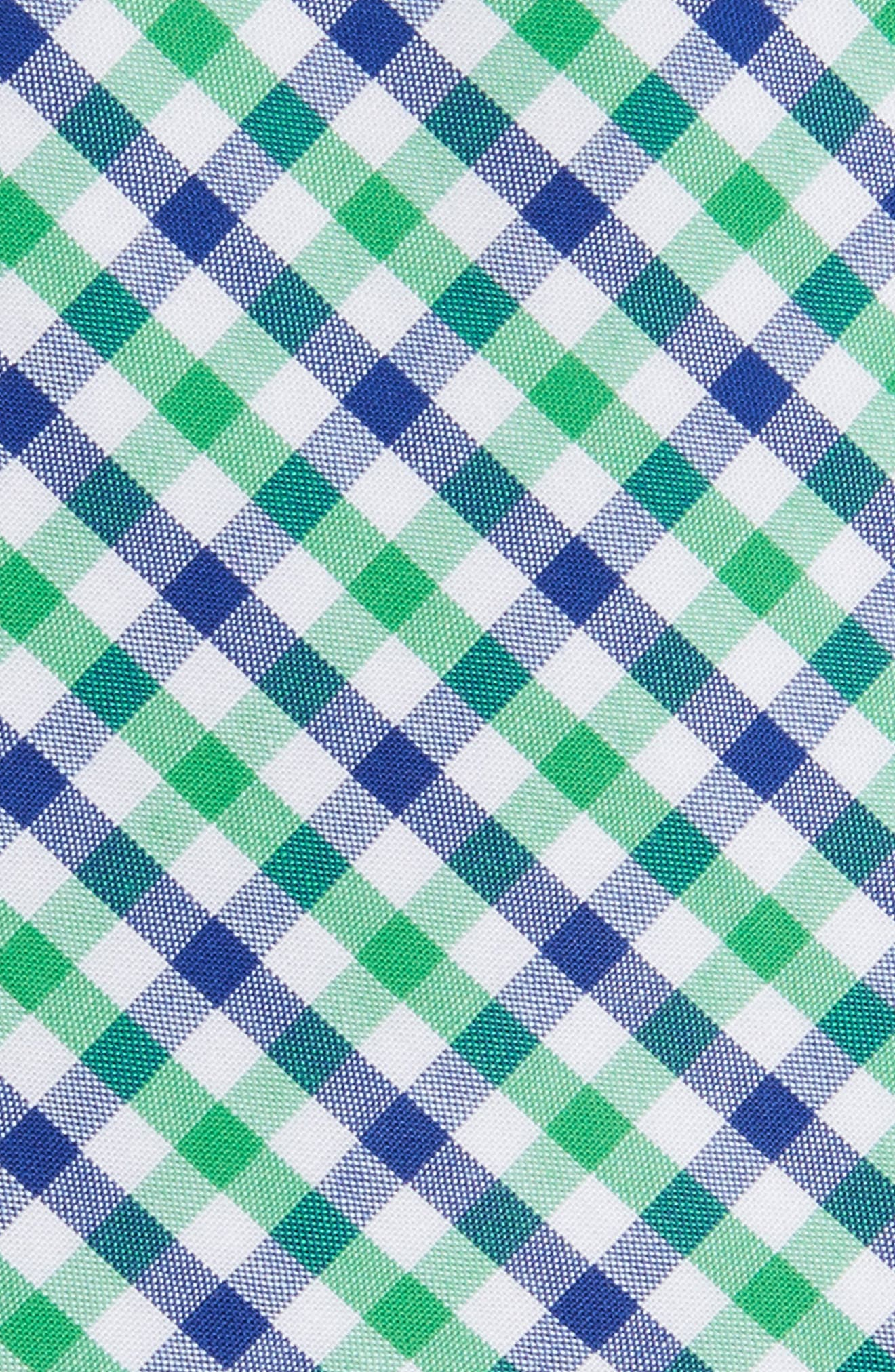 Robin Diamond Check Skinny Tie,                             Alternate thumbnail 6, color,