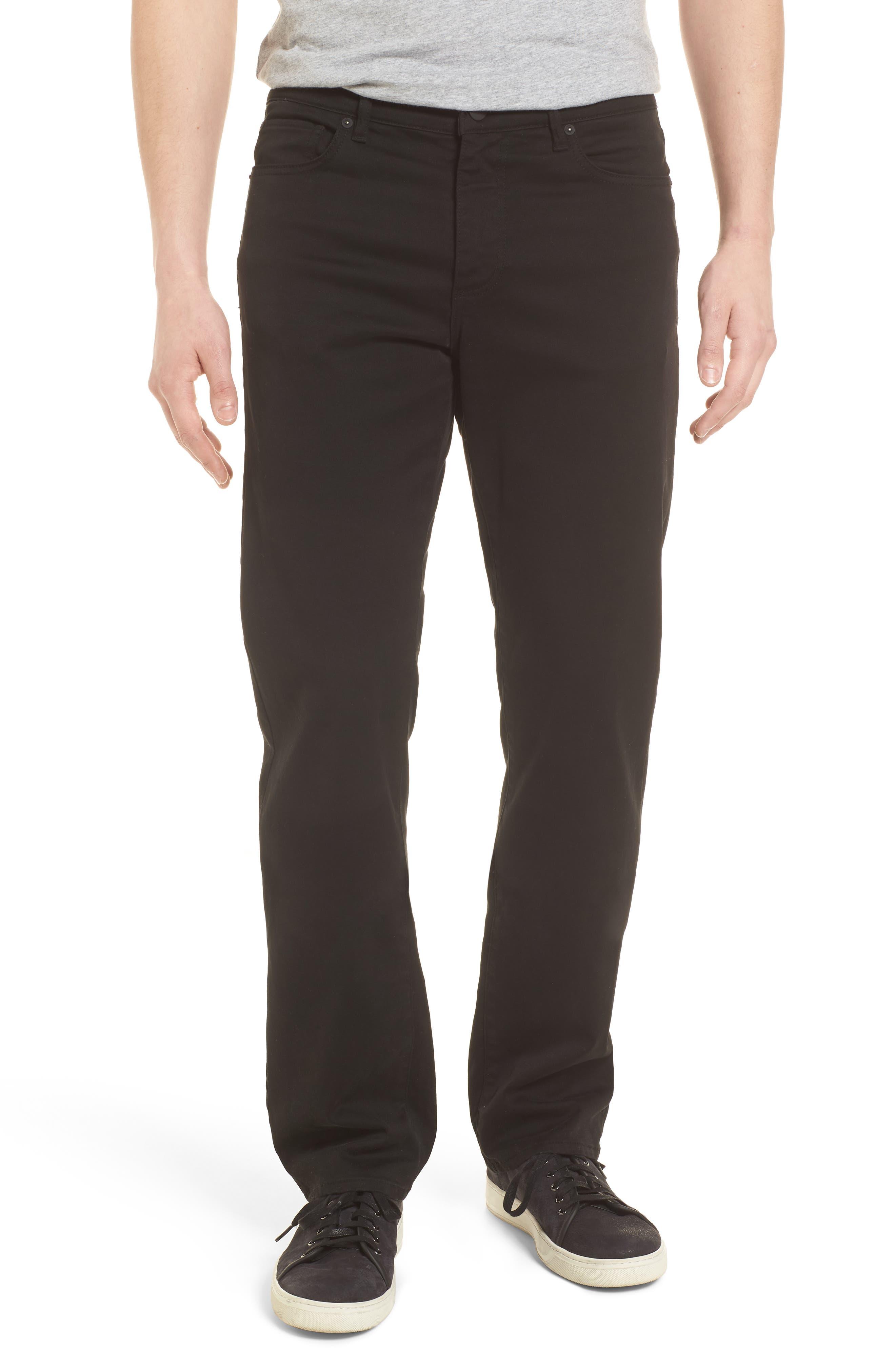 Avery Slim Straight Chino Pants,                         Main,                         color, COAL
