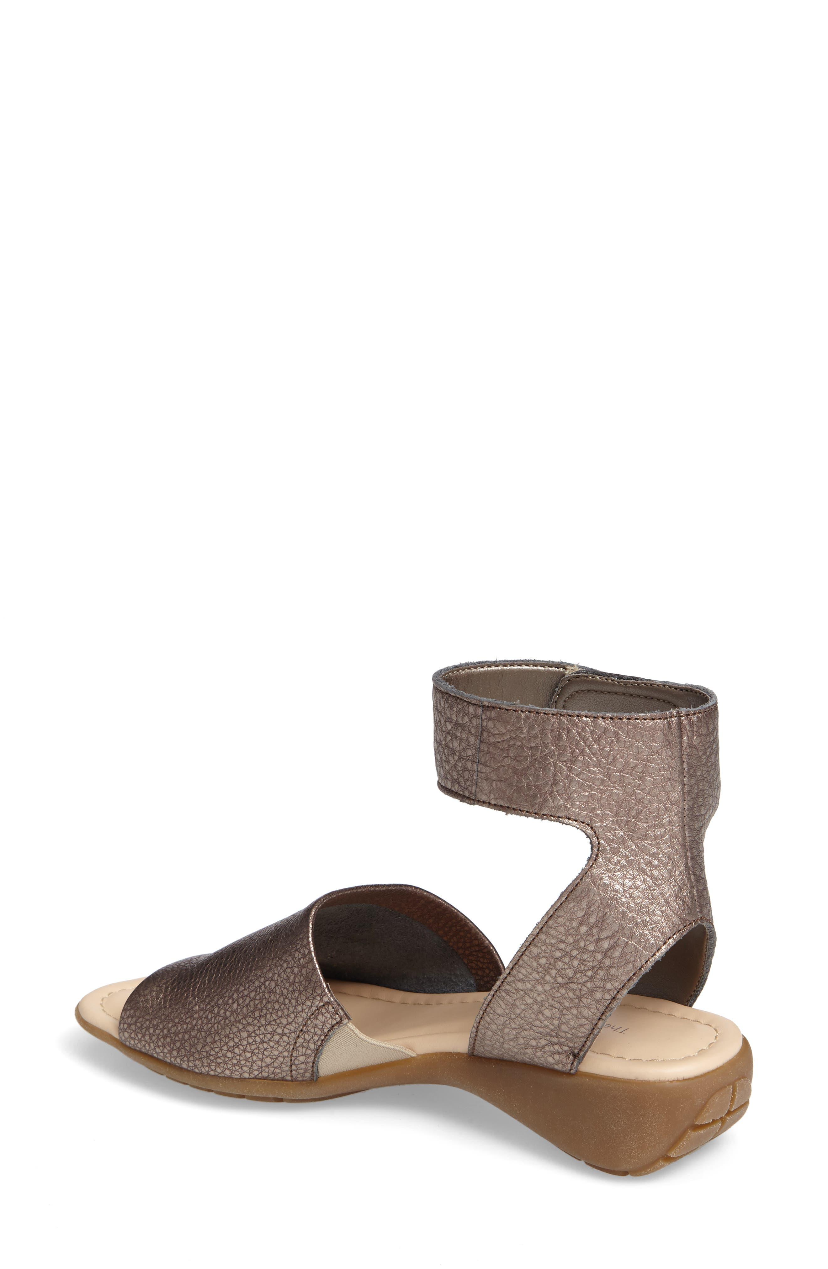 'Beglad' Leather Ankle Strap Sandal,                             Alternate thumbnail 23, color,