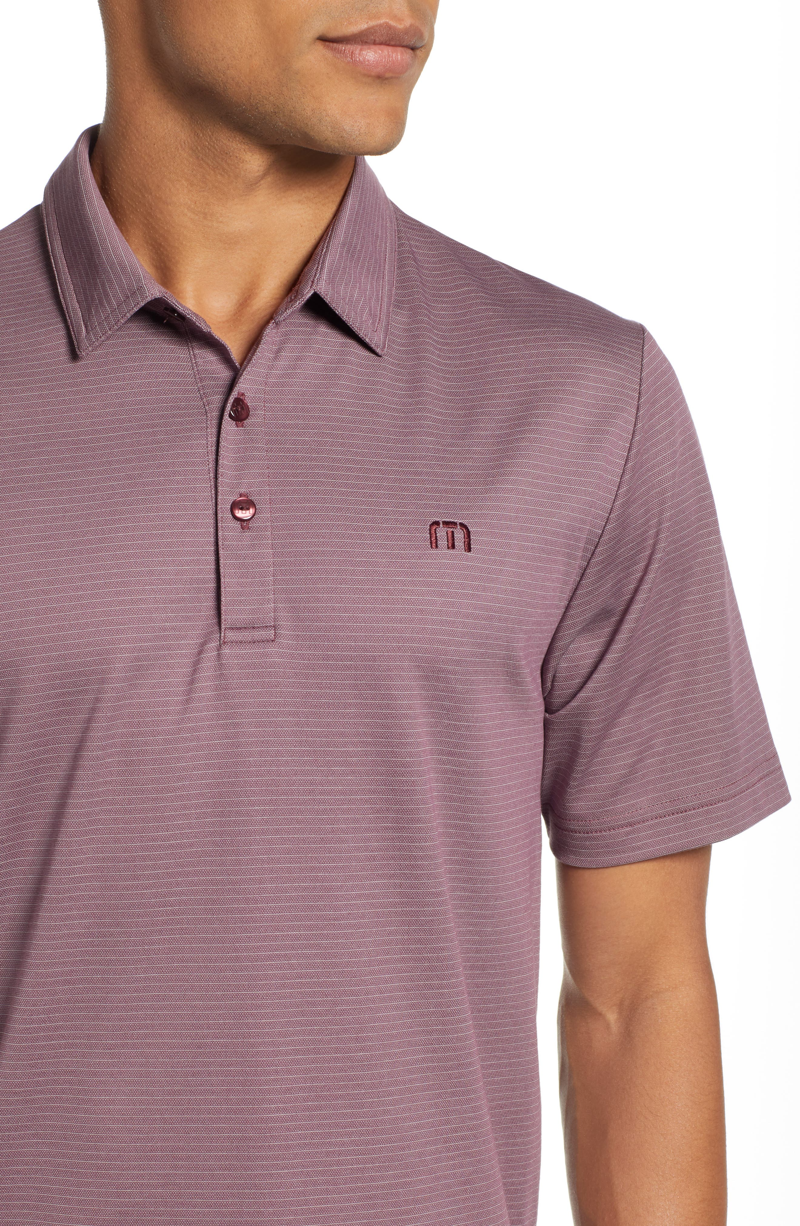 The VIP Regular Fit Polo,                             Alternate thumbnail 4, color,                             EGGPLANT/ MICRO CHIP