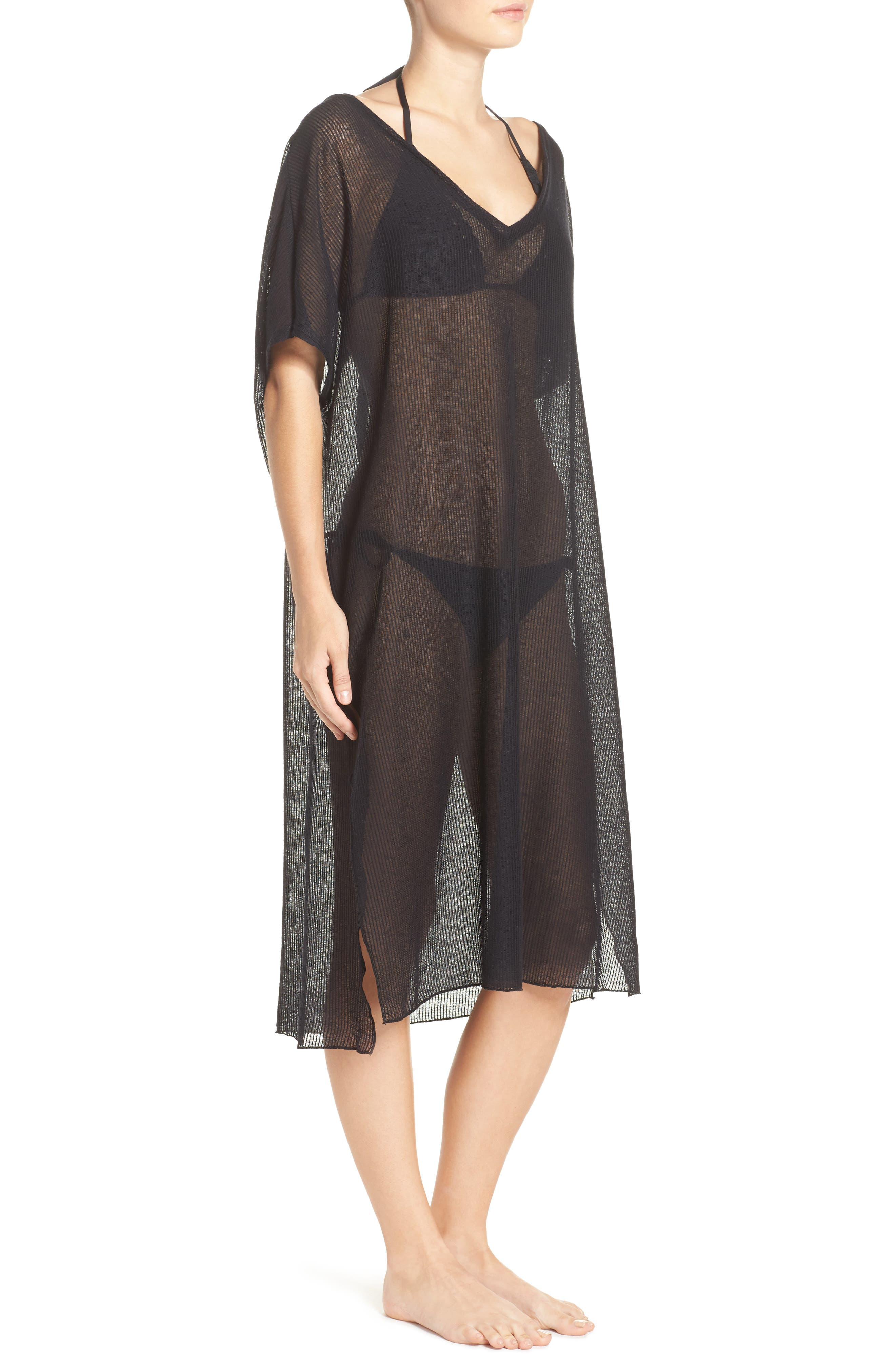BECCA,                             By the Sea Cover-Up Tunic,                             Alternate thumbnail 4, color,                             001
