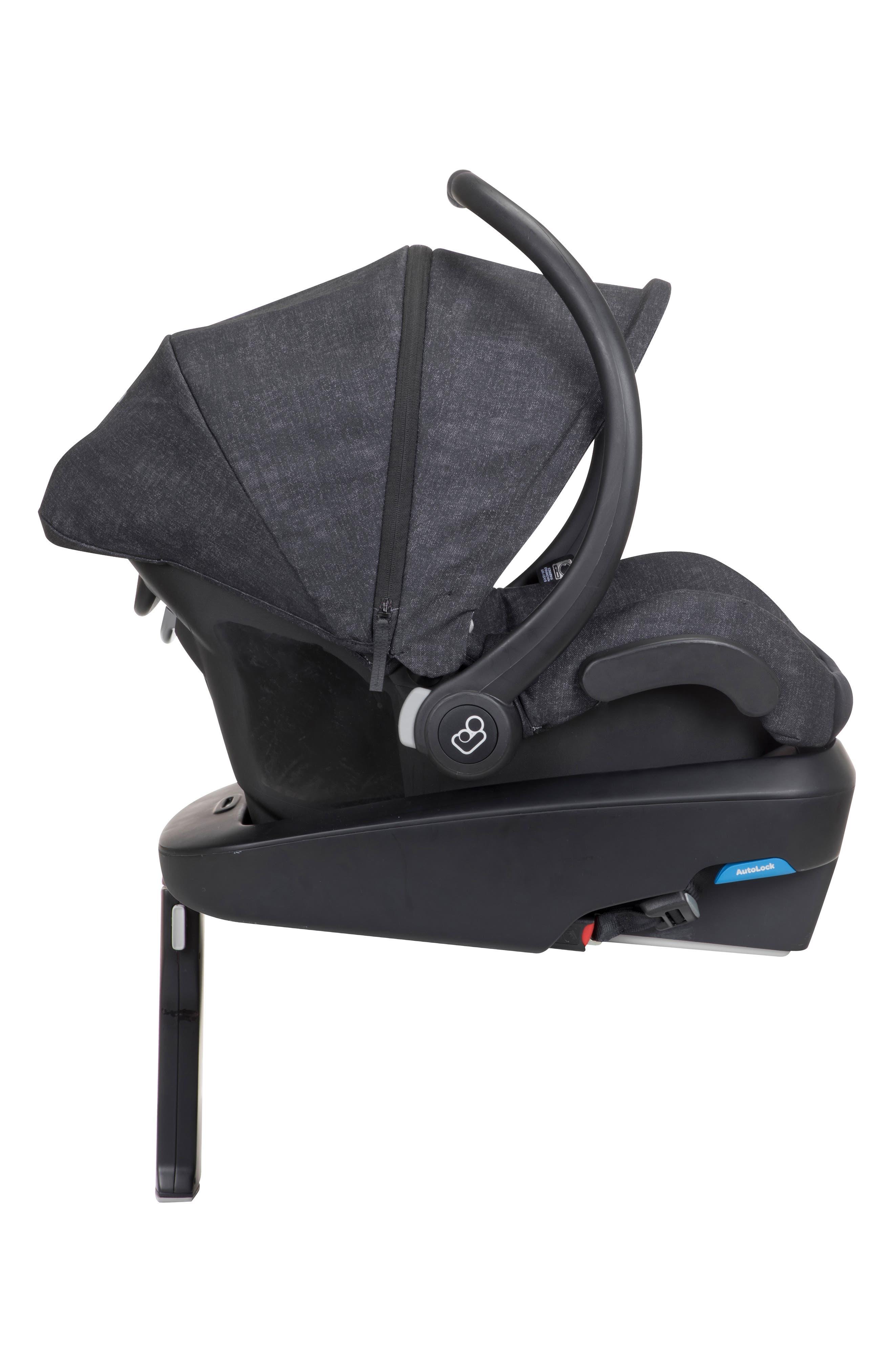 Mico Max Plus Infant Car Seat,                             Alternate thumbnail 10, color,                             NOMAD BLACK
