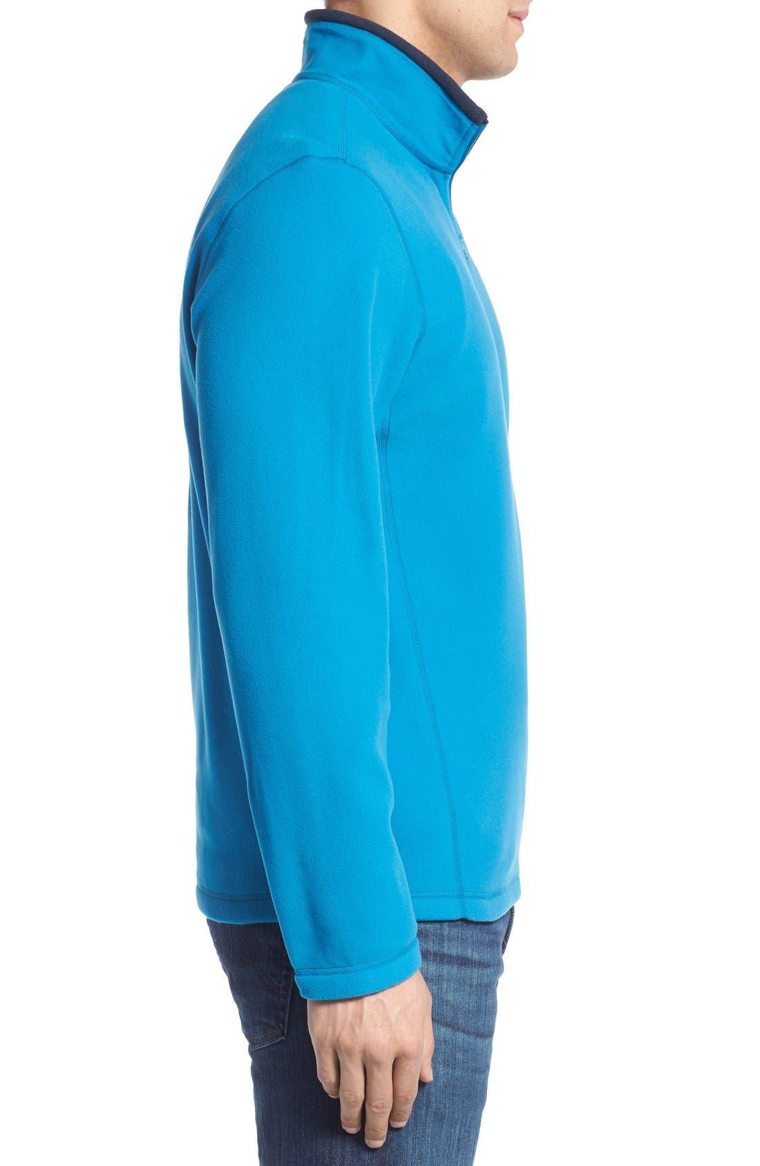 'TKA 100 Glacier' Quarter Zip Fleece Pullover,                             Alternate thumbnail 127, color,