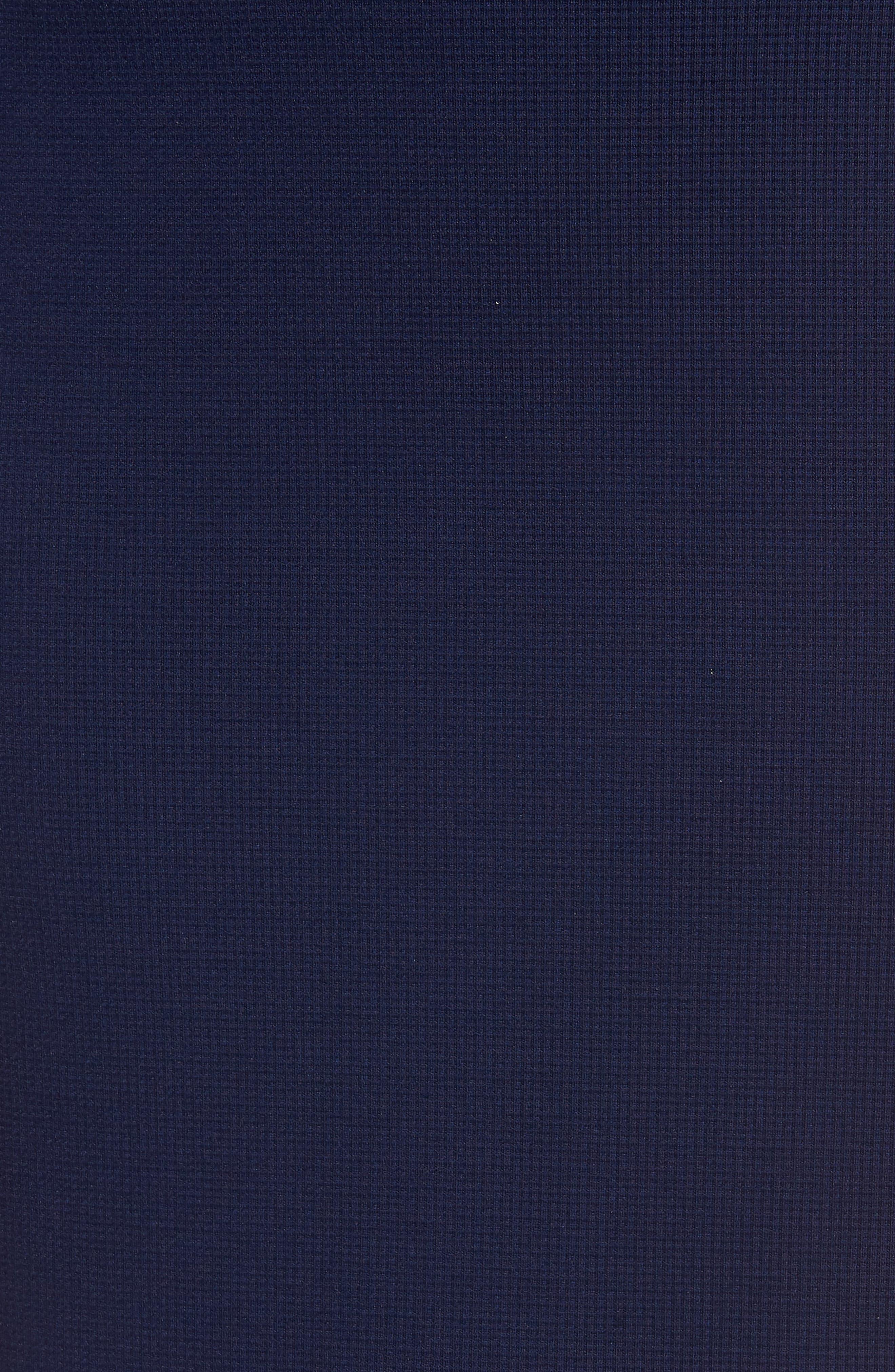 Textured Ponte Pencil Skirt,                             Alternate thumbnail 5, color,                             410