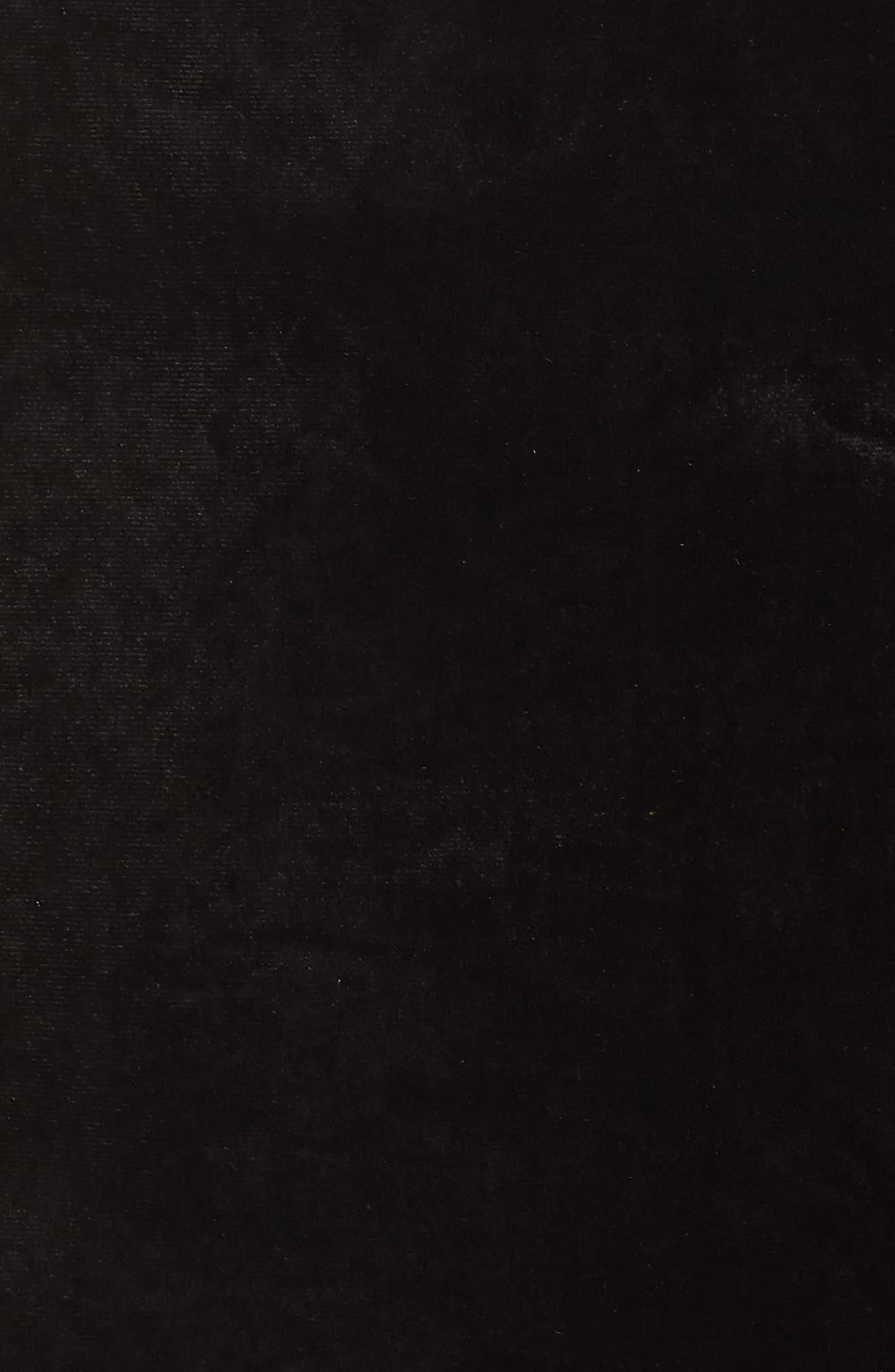 ELIZA J,                             Strapless Shift Dress,                             Alternate thumbnail 6, color,                             BLACK