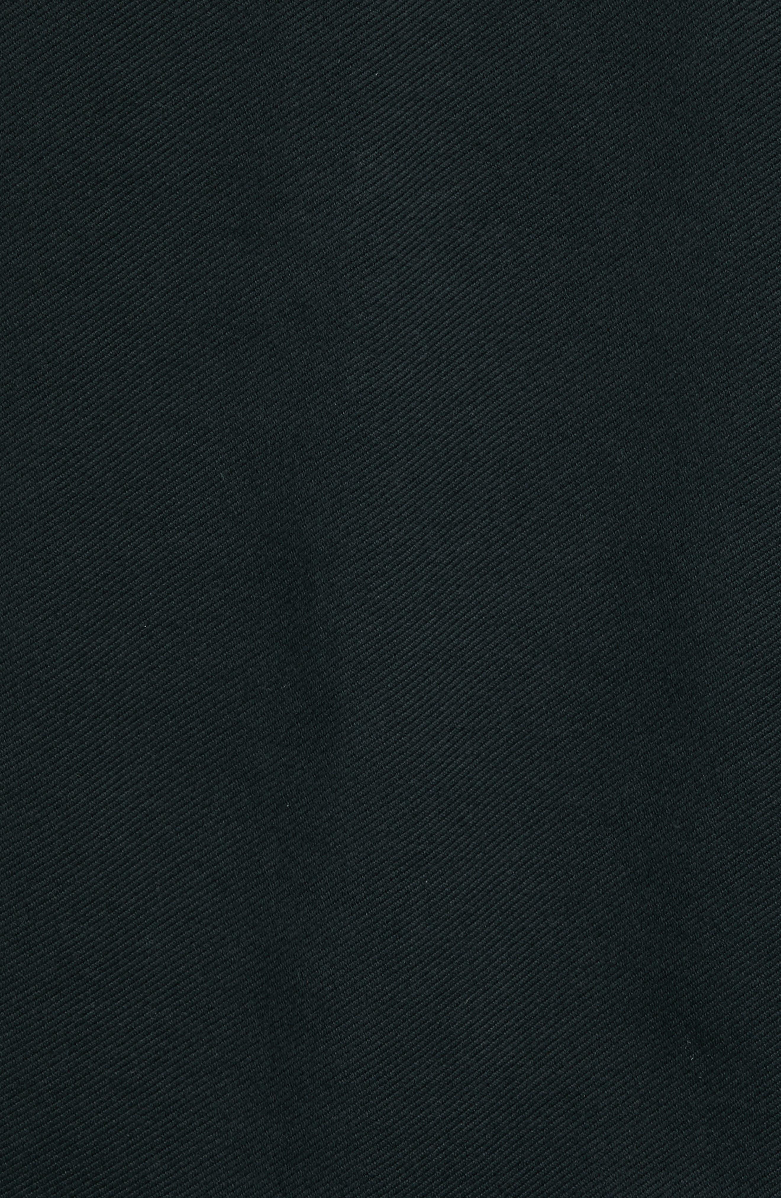 Danett Tall Twill Jacket,                             Alternate thumbnail 6, color,                             BLACK